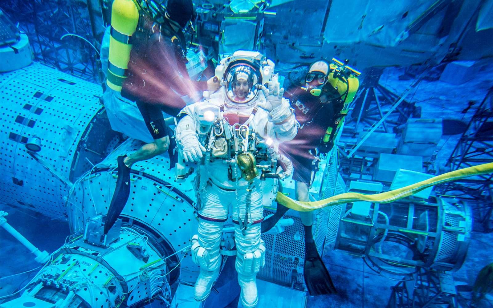 Sélectionné en mai 2009 avec cinq autres futurs astronautes, Thomas Pesquet sera le dixième astronaute français à voler dans l'espace. © Esa, Nasa, mars 2013