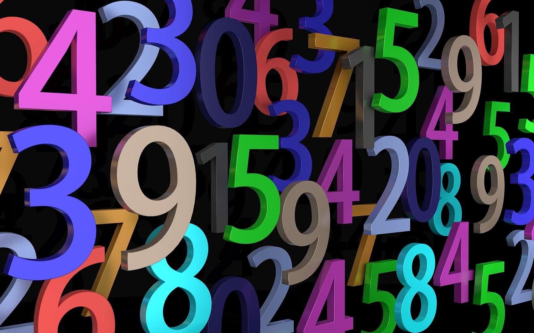 La beauté des nombres. © Fotoblend, Pixabay, DP