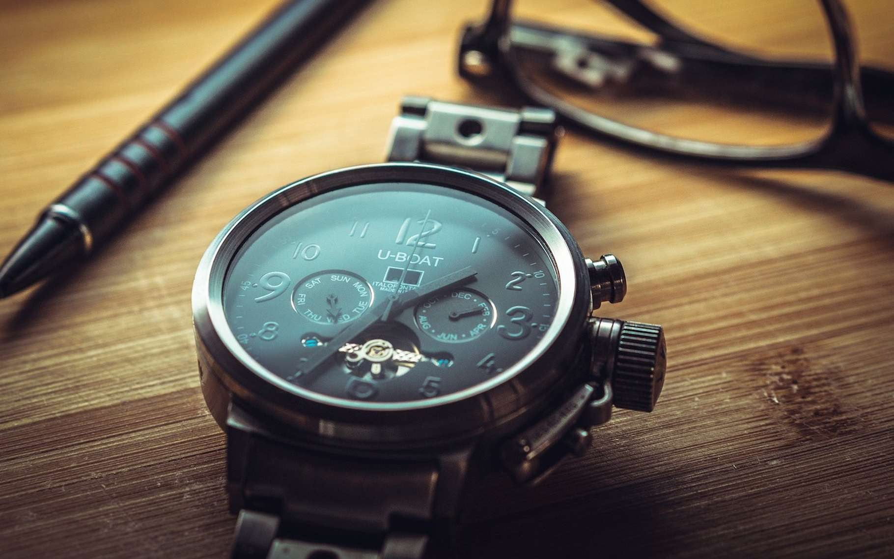 La plupart des montres haut de gamme sont conçues à partir de verre de saphir, un verre quasiment inrayable. © qimono, Pixabay, CC0 Creative Commons
