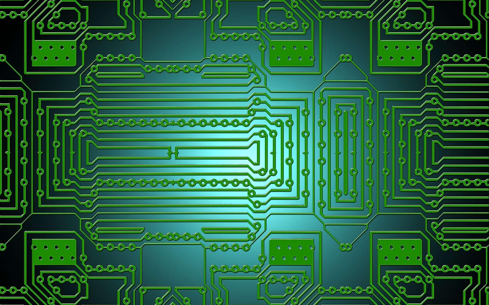 Les circuits électroniques contiennent parfois des données sensibles. Celui des chercheurs du PARC (Palo Alto Research Center) a la particularité de pouvoir s'autodétruire. © geralt, Pixabay, DP