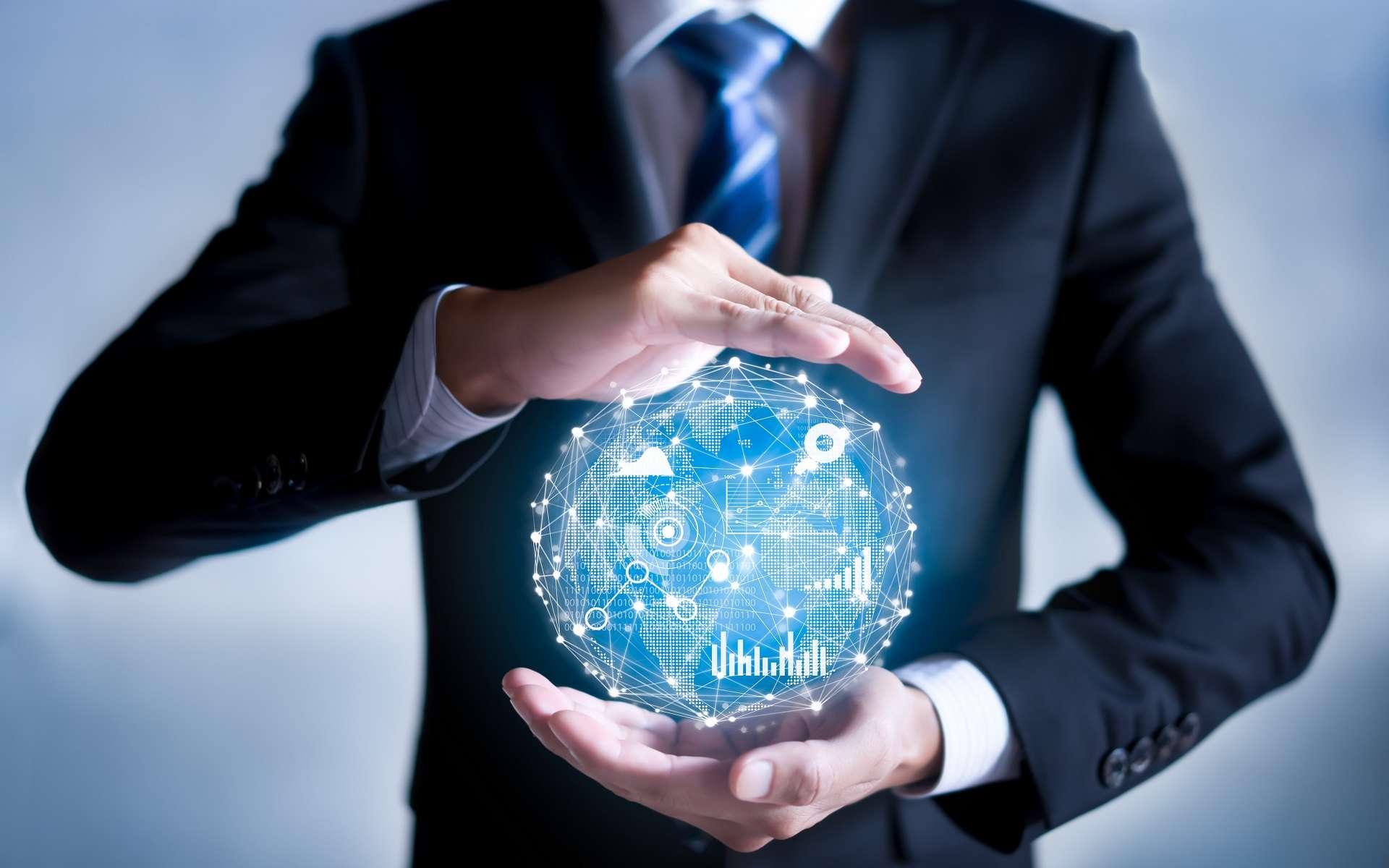 La digitalisation de la société a entraîné un afflux massif de données à gérer pour les entreprises dans tous les secteurs d'activité, créant ainsi de nouveaux métiers. © Worawut, Adobe Stock.