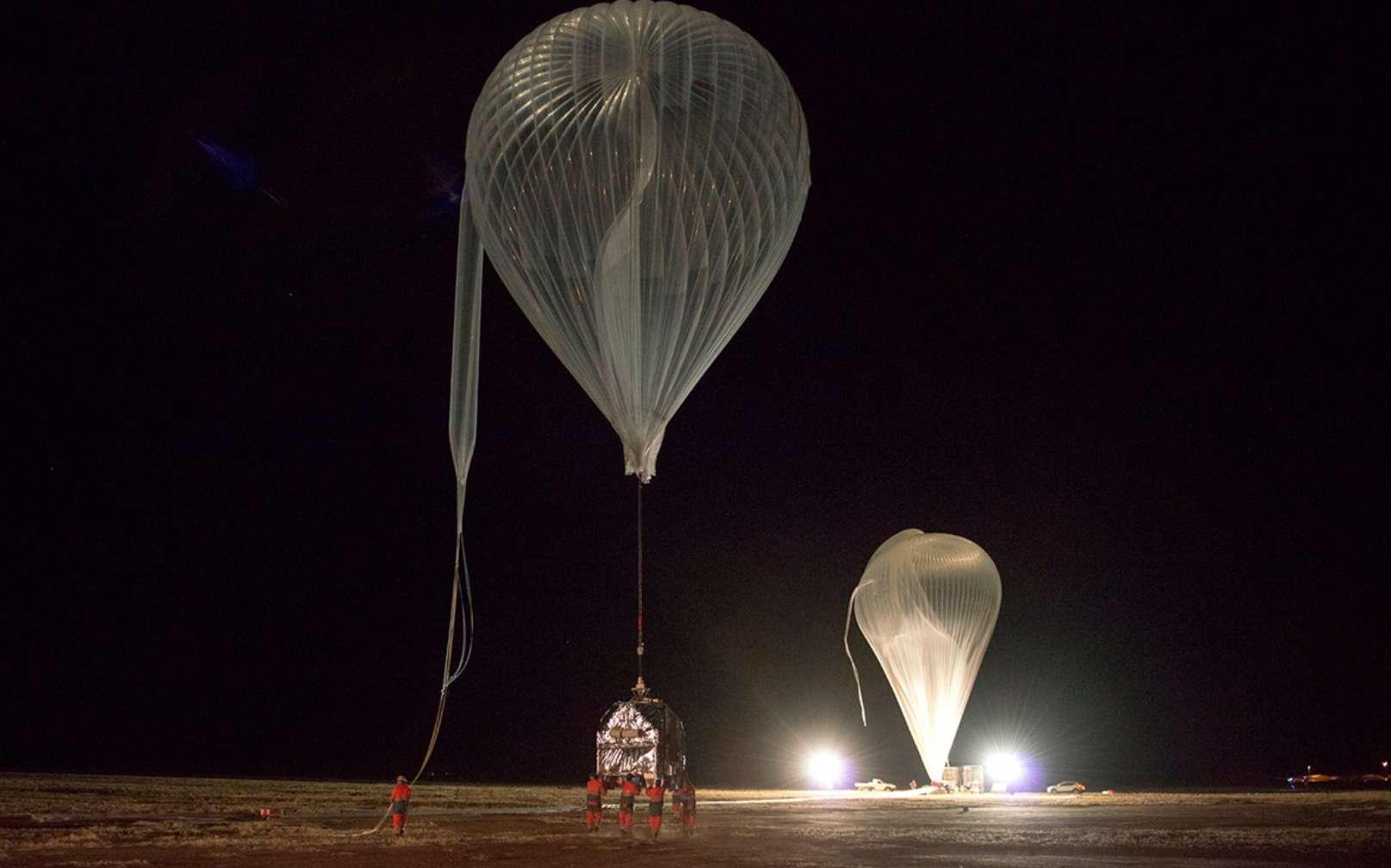 Airstar Aerospace a été impliquée dans la Campagne ballons Austral Cnes 2017 avec ses ballons stratosphériques. © Airstar 2018