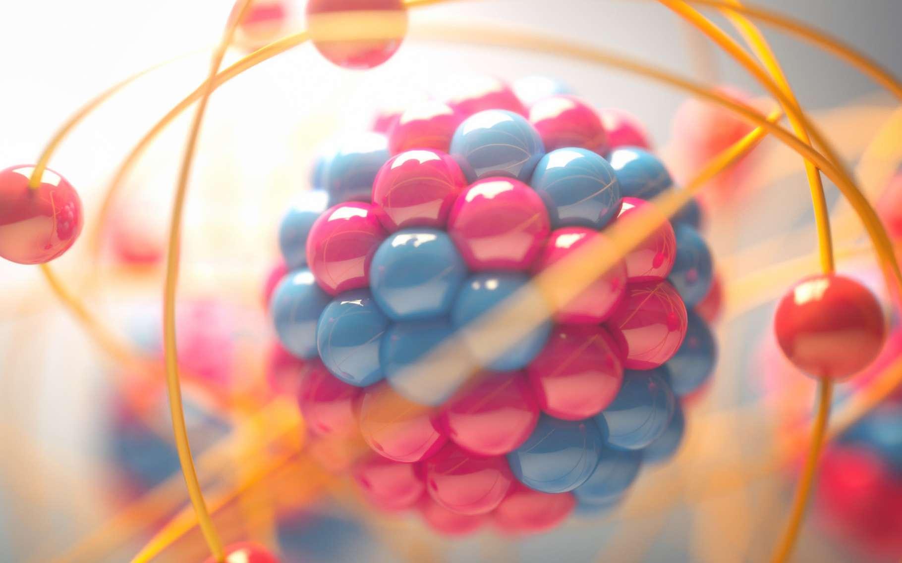 Des chercheurs allemands ont mesuré la masse du proton. Celui-ci serait plus léger que prévu. Mais l'équipe appelle d'autres physiciens à procéder à leurs propres mesures pour s'assurer de la validité du résultat. © ktsdesign, Fotolia