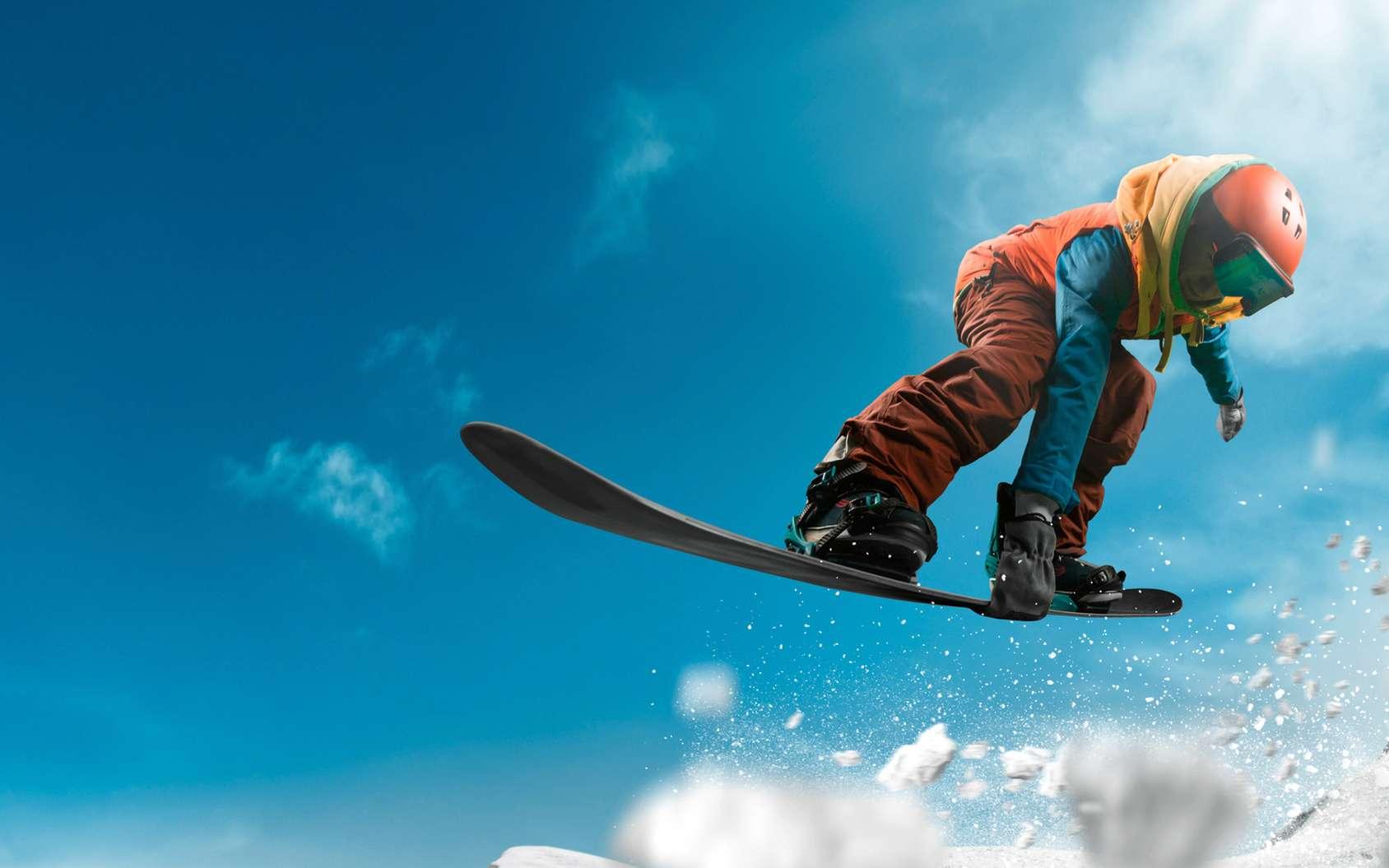 Découvrez 10 termes essentiels dans le snowboard. © Артур Дидык, fotolia