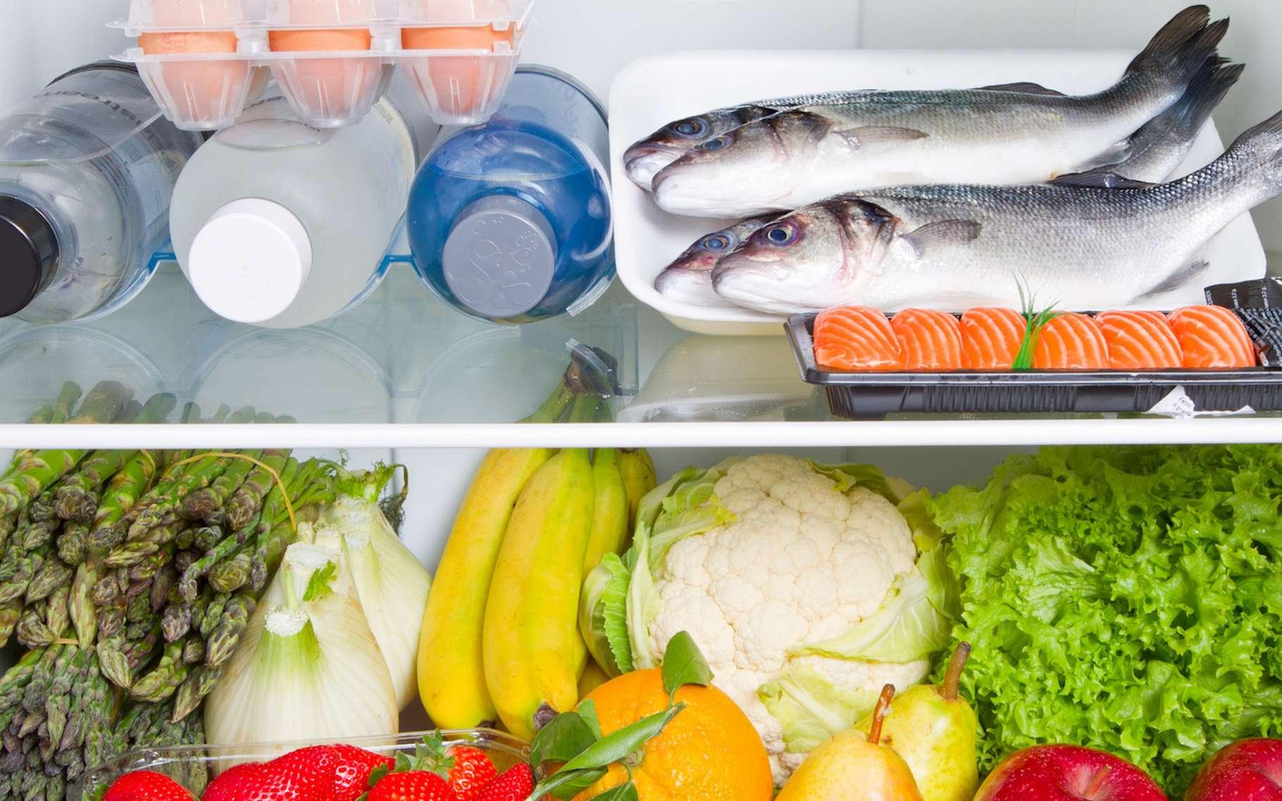 Un réfrigérateur plein consomme moins d'énergie qu'un réfrigérateur vide. © Lsantilli, Fotolia