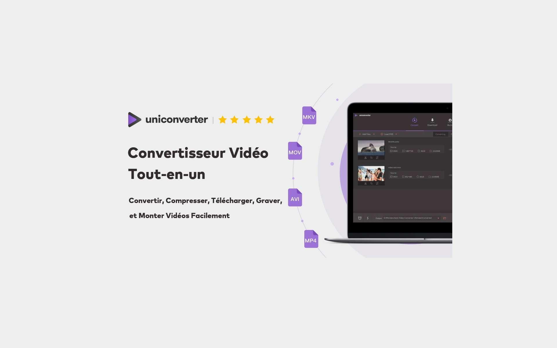 Futura vous explique comment télécharger et convertir des vidéos en ligne avec UniConverter. © Pixabay