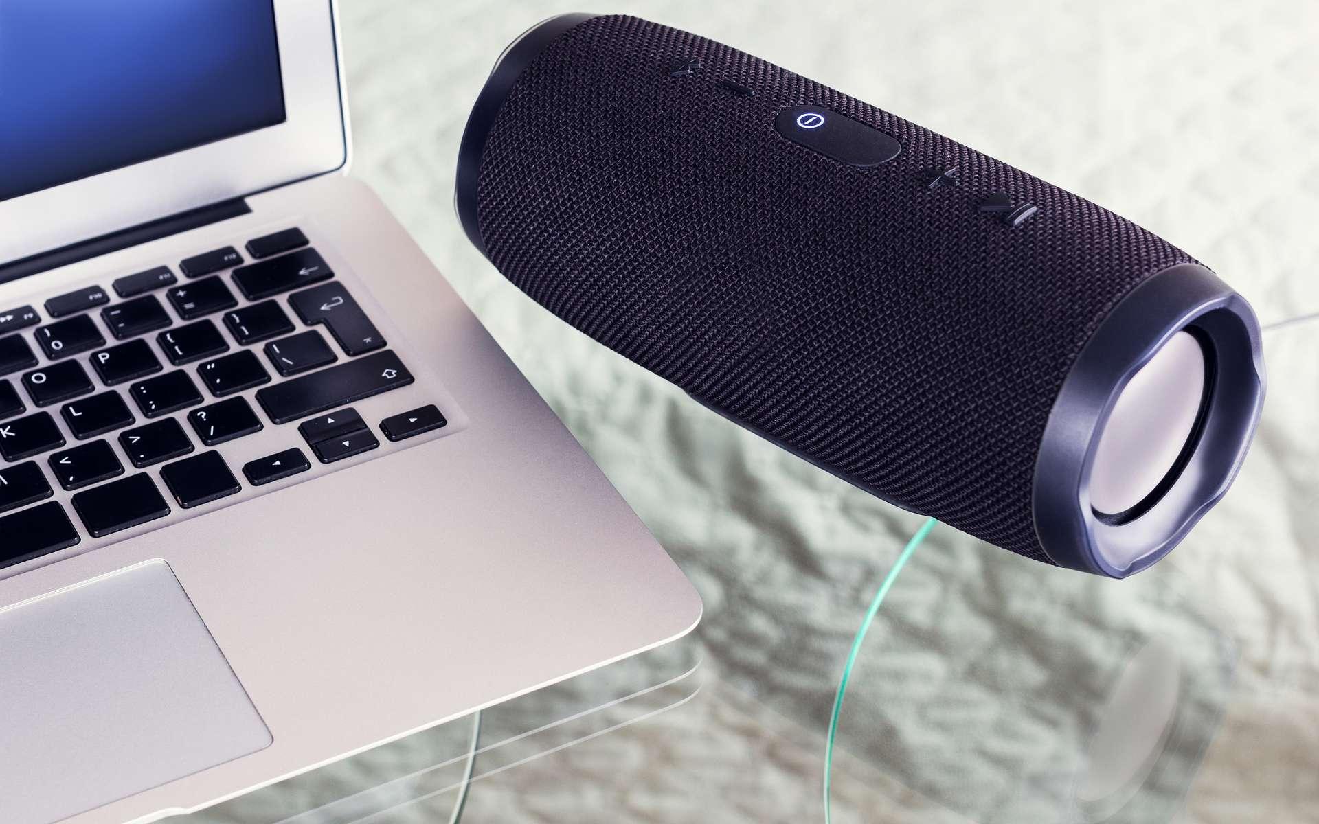 L'enceinte Bluetooth nécessite l'appairage. © Angelika Smile, Adobe Stock