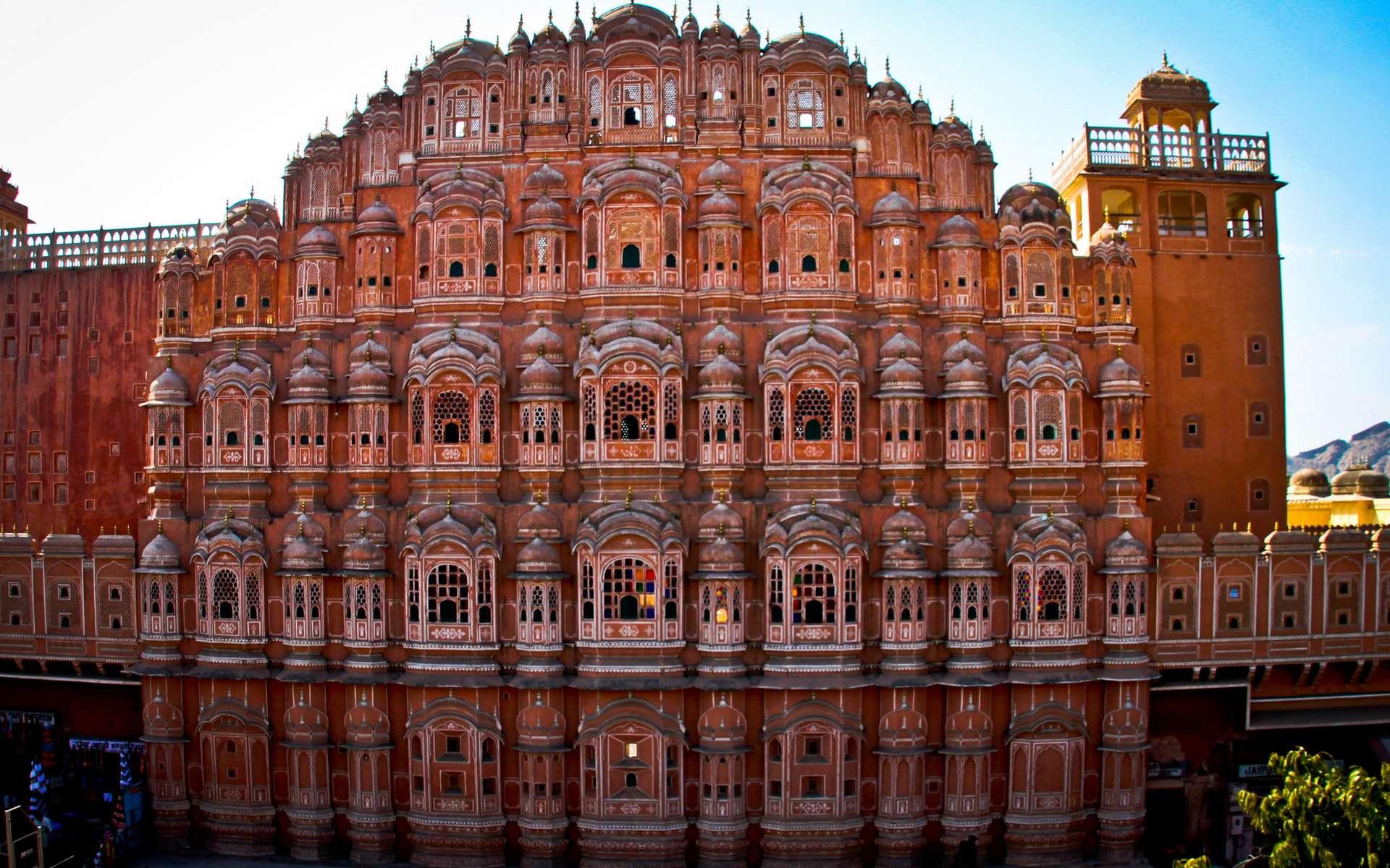 Le Palais des vents à Jaipur, 22e plus beau monument du monde. © Nico Crisafulli, Flickr