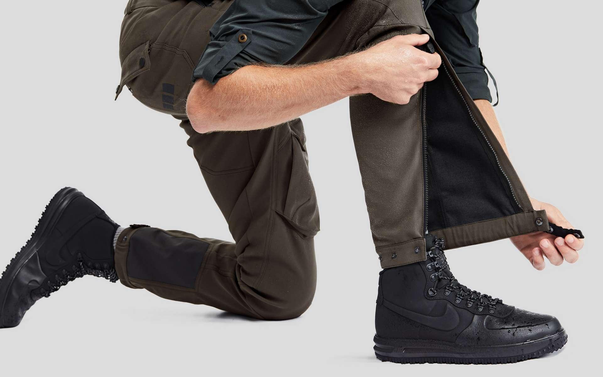 Pour son pantalon indestructible, la startup Vollebak s'est alliée avec la marque suisse Schoeller, spécialiste des tissus militaires. © Vollebak, Sun Lee