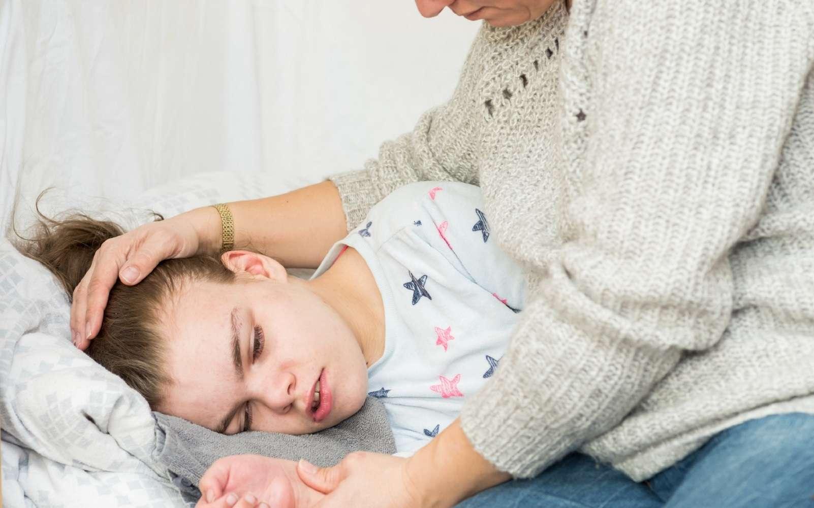 L'épilepsie apparaît souvent pendant l'enfance. © mjowra, Fotolia