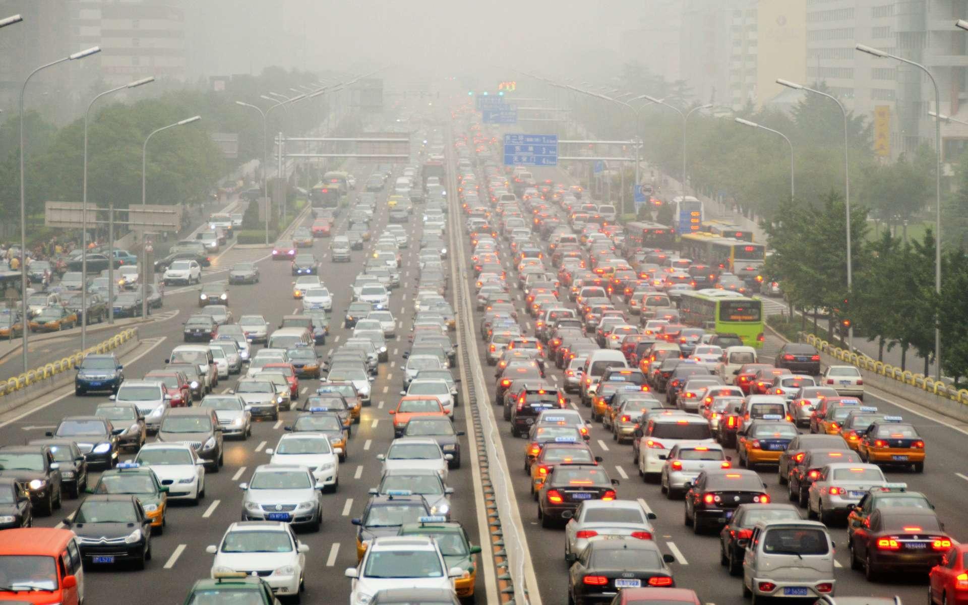 Quelle est la part du transport dans les émissions de CO2 ? © Safia Osman, Flickr