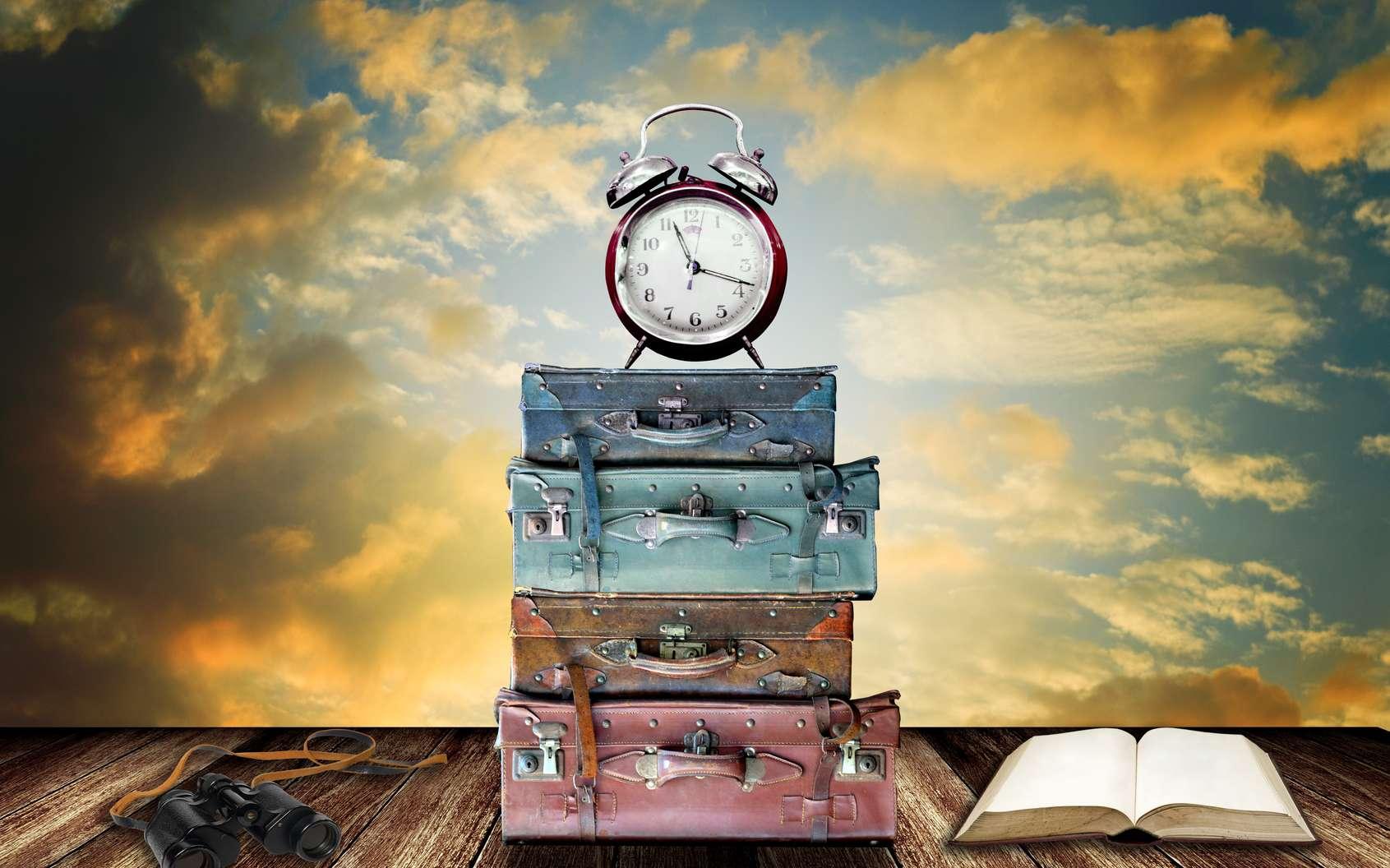 Le scientifique Noël Essaillon a réussi à créer une substance qui permet de voyager dans le temps. © pixbox77, Fotolia