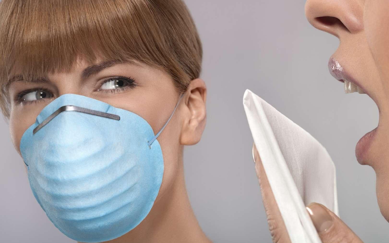 Un éternuement peut transmettre des virus. © flairimages, Fotolia