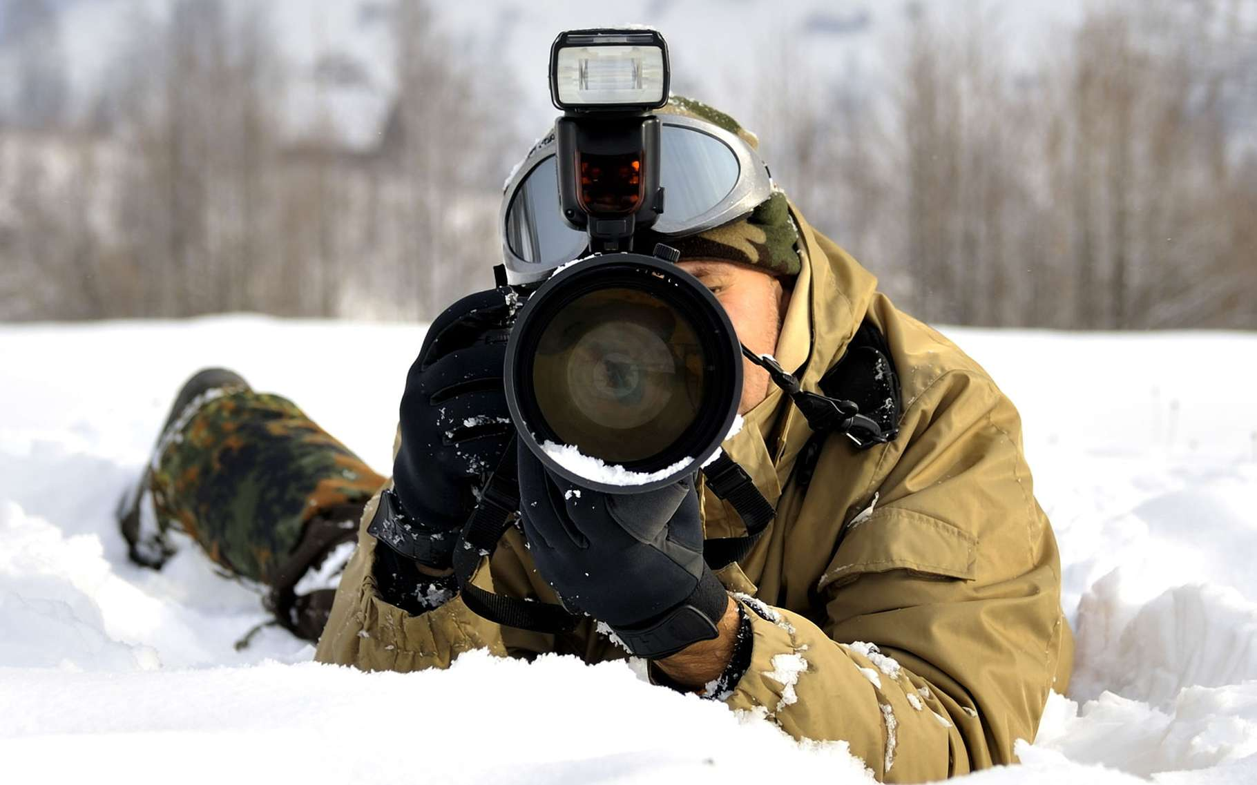 его использование фотоаппарата на морозе прекрасный загадочный