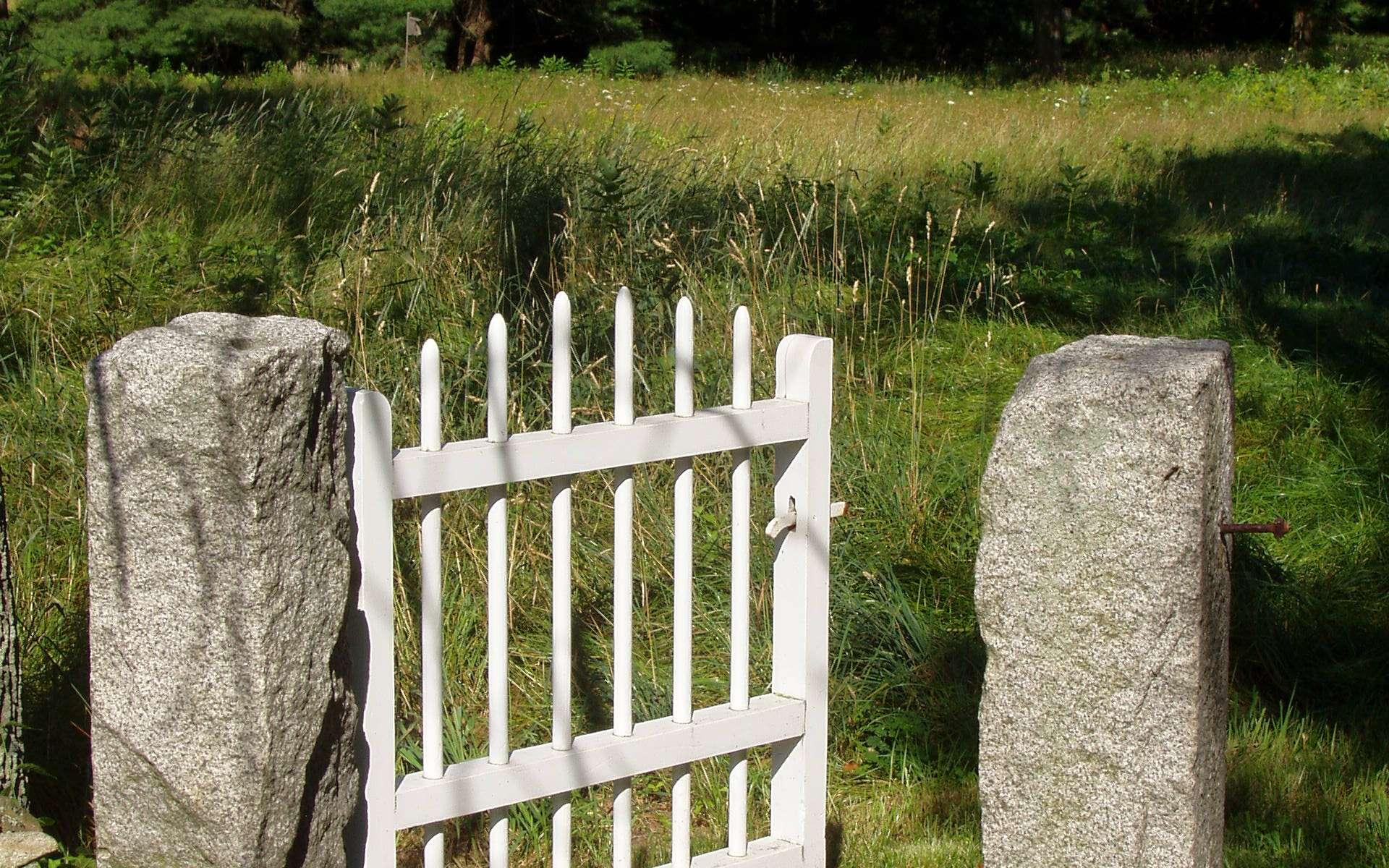 Un portillon en PVC apporte à la fois allure et simplicité. © Eptalon, Wikipédia CC BY-SA 3.0