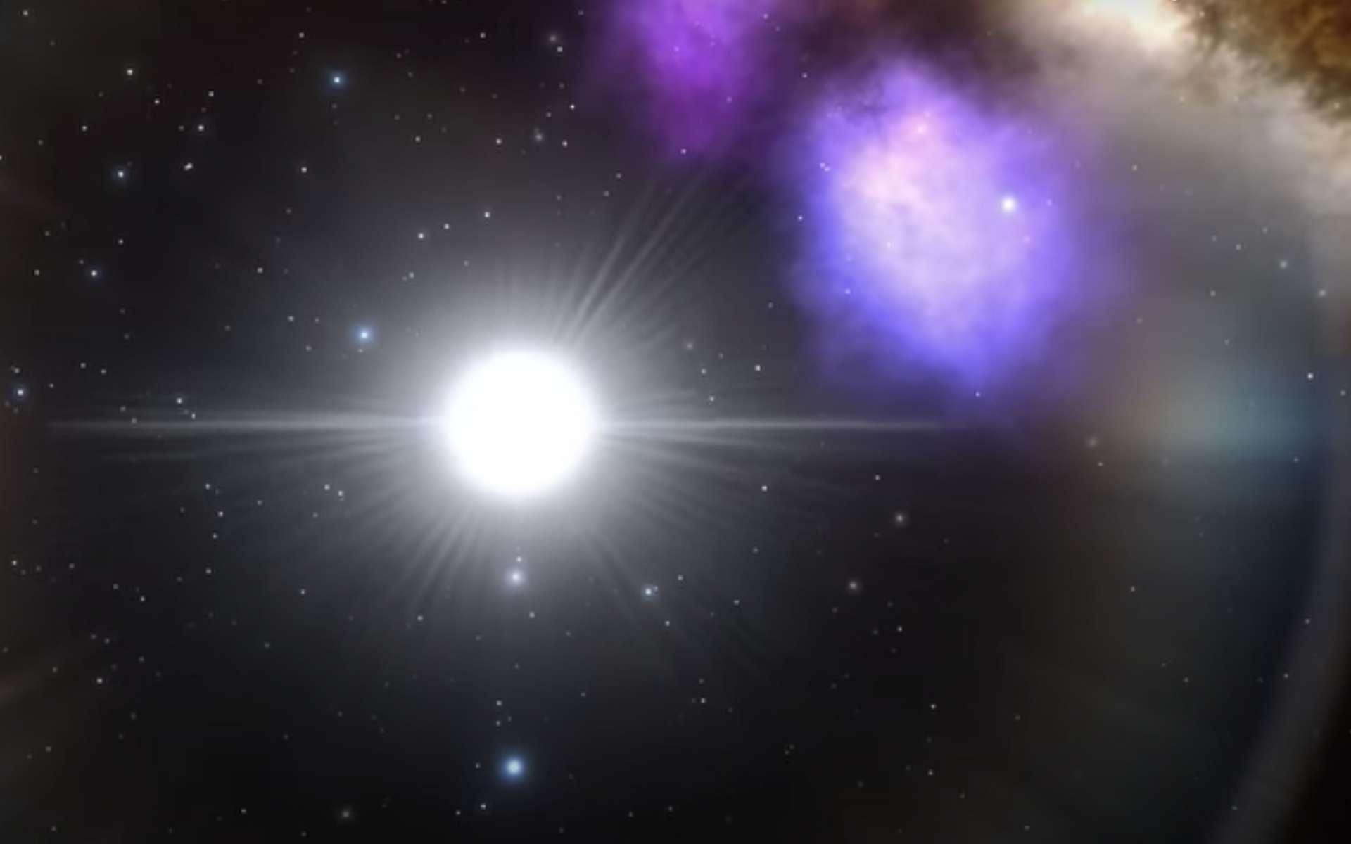 L'astérosismologie sonde les structures internes des étoiles en utilisant leurs fréquences de pulsation naturelles. © The University of Sydney