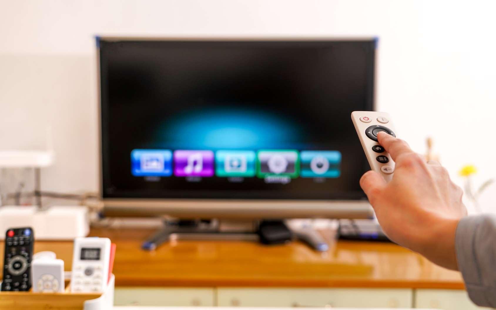 Sans que vous soyez abonné, Netflix reçoit des informations liées à vos habitudes devant votre téléviseur. © Pornchai Soda, Fotolia