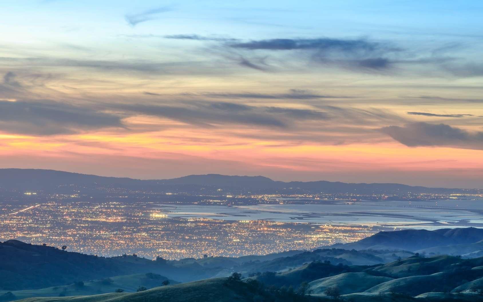 La Silicon Valley se trouve dans la baie de San Francisco. Est-elle menacée par les inondations ? © Yuval Helfman, Fotolia