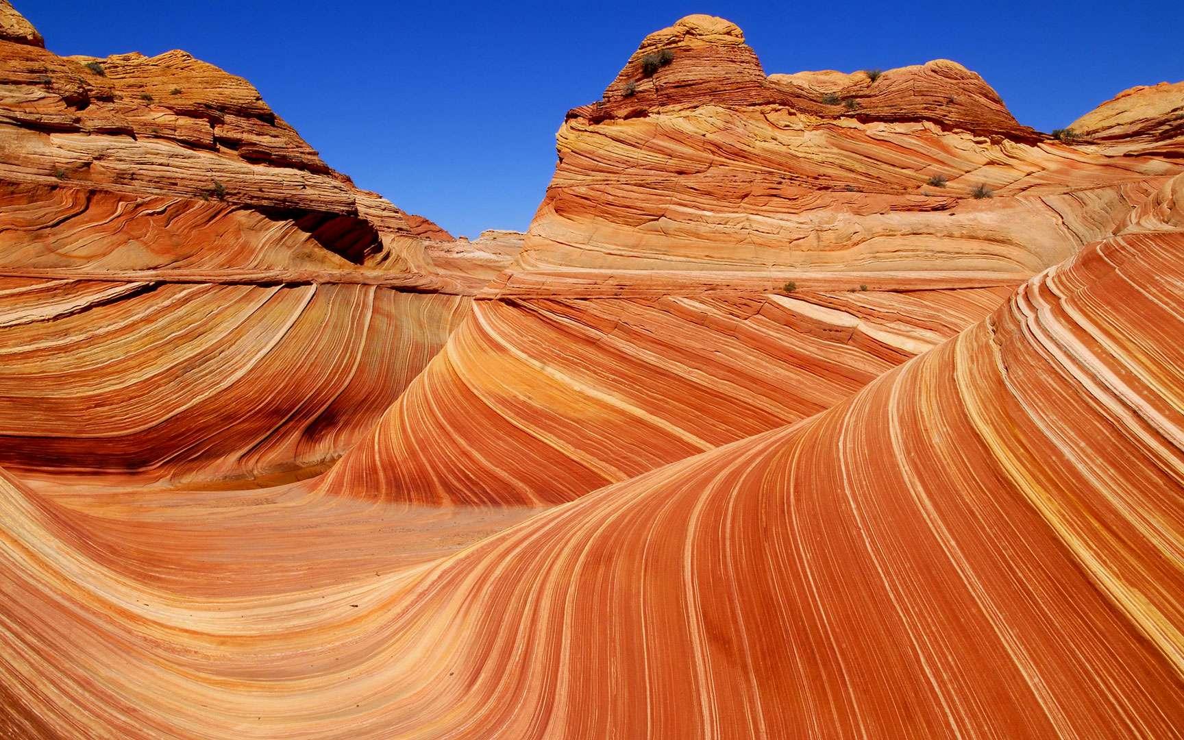 À l'intérieur d'Antélope lower canyon, des couleurs à couper le souffle... © Antoine - Tous droits réservés