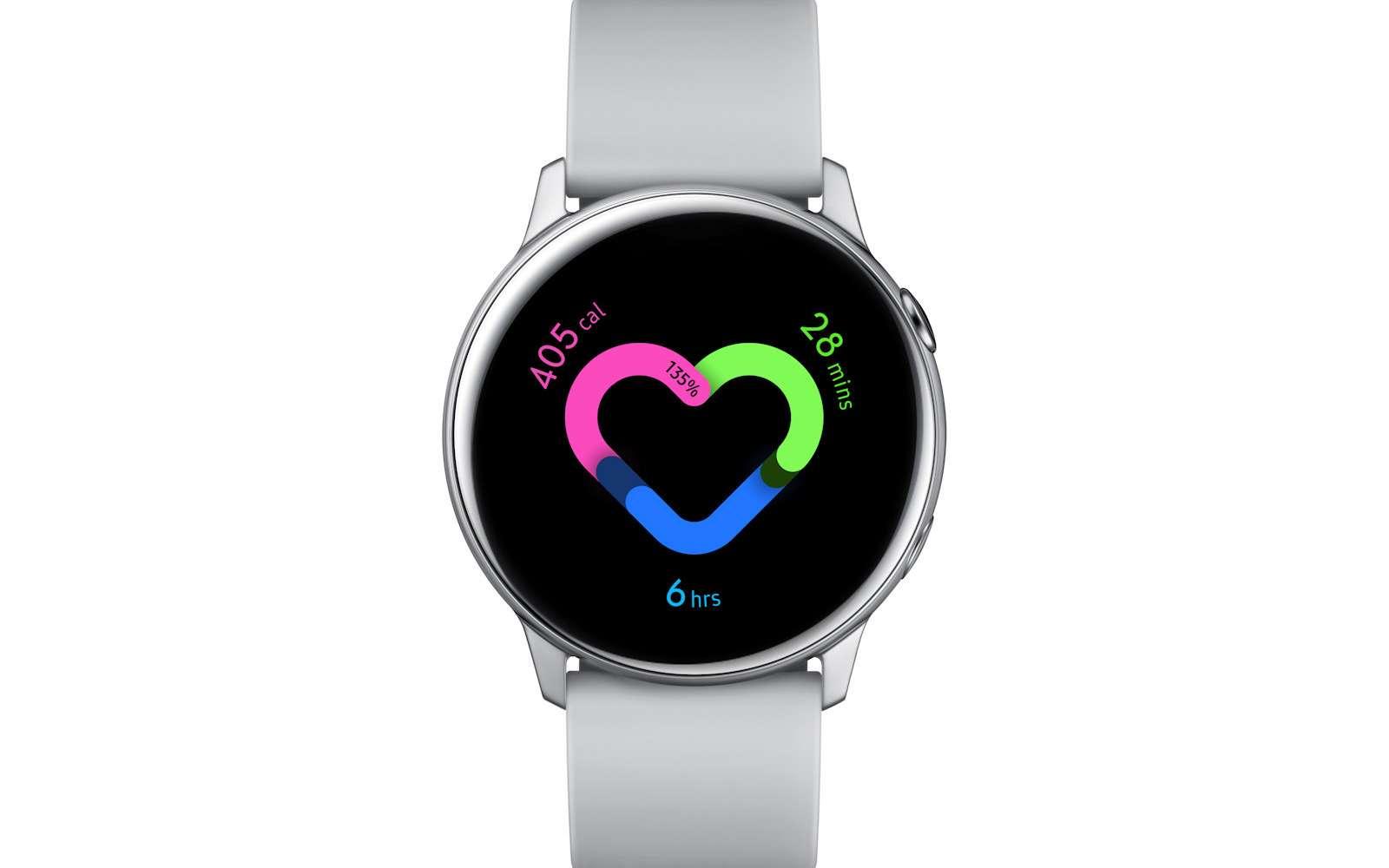 La Galaxy Watch Active 2 intègre déjà un électrocardiogramme © Samsung