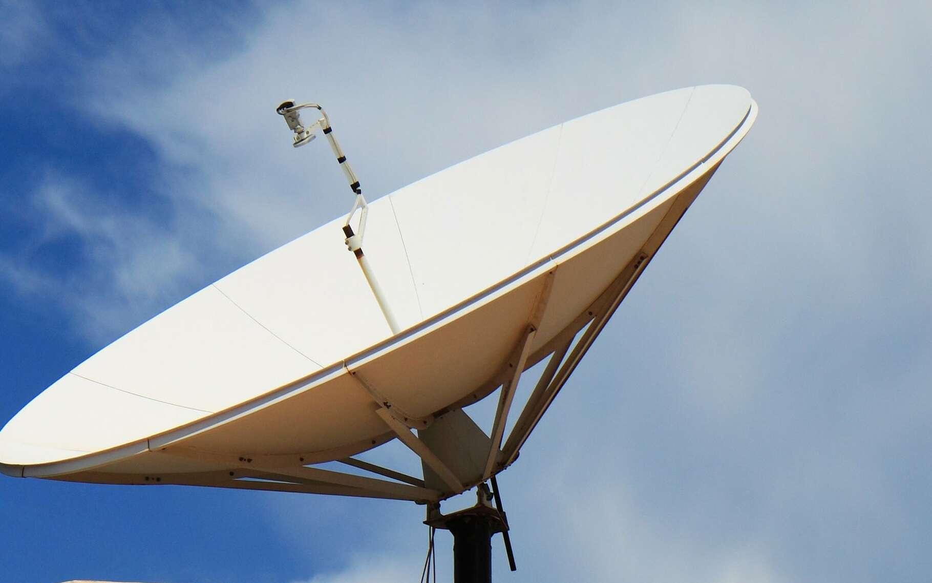 La parabole pour capter les programmes télévisuels. © PublicDomainePicture, Pixabay, DP