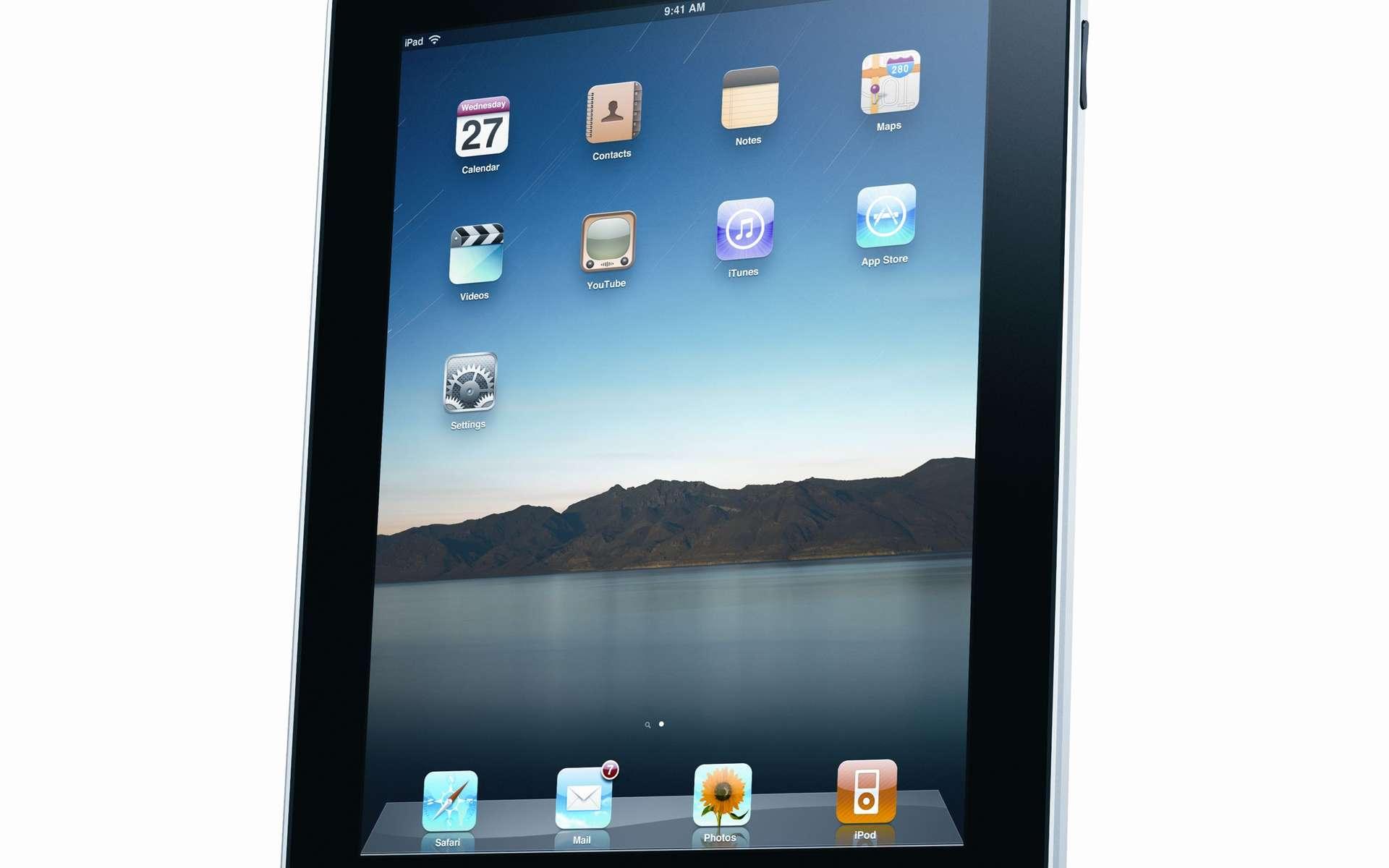 L'iPad arrive... © Apple