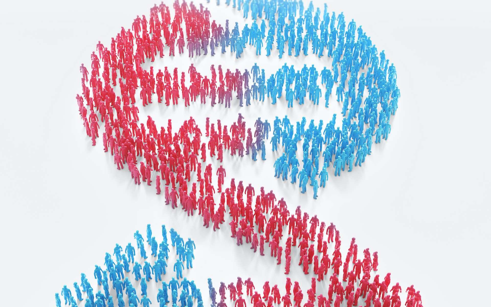 Une altération d'un ou plusieurs gènes peut conduire à une maladie génétique telle que la mucoviscidose, la trisomie 21, ou la myopathie. © Mopic, Adobe Stock