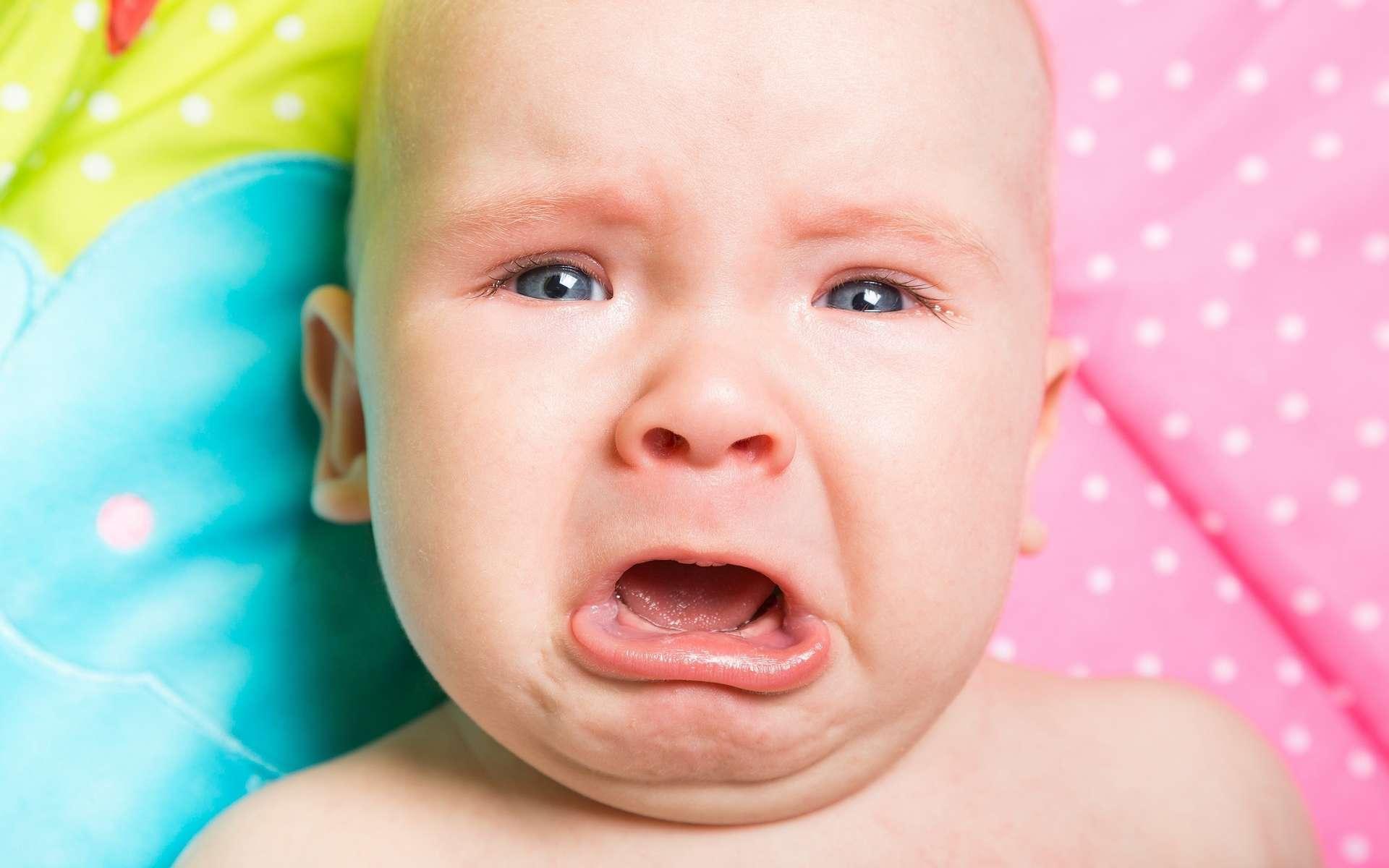 Les pleurs d'un bébé agissent sur le cerveau des adultes et les perturbent plus que des rires. © www.BillionPhotos.com, Shutterstock