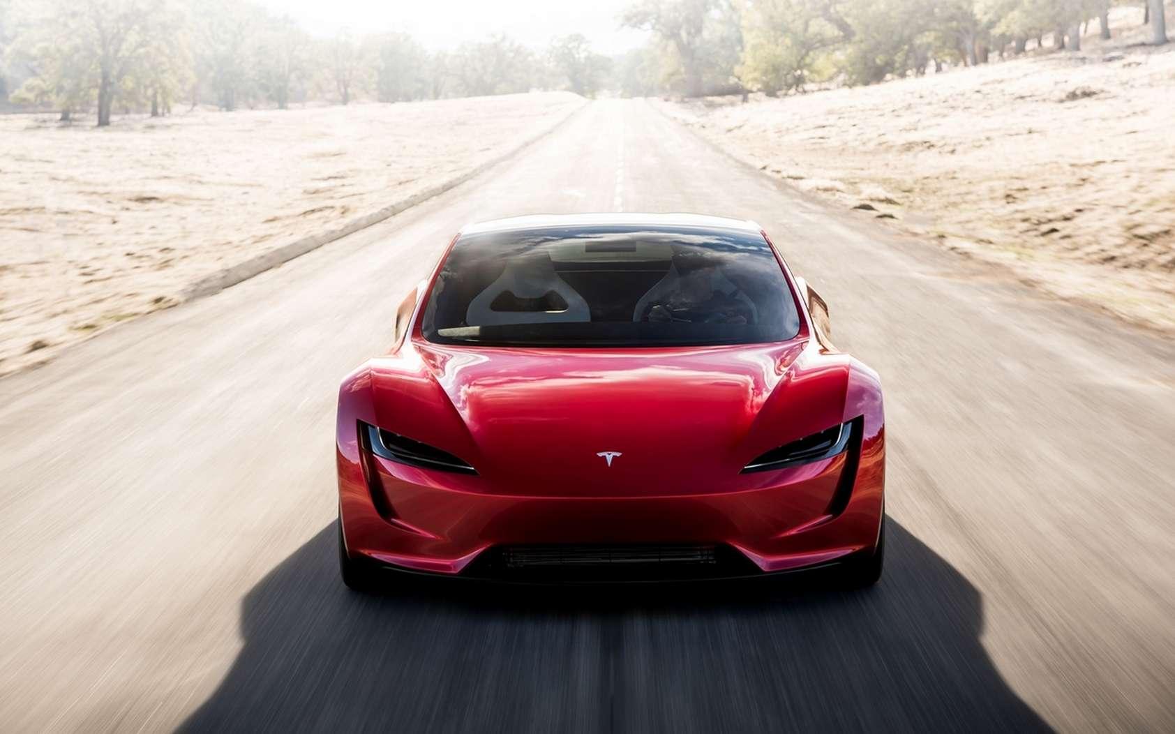 Le Tesla Roadster est censé atteindre les 400 km/h et offrir 1.000 km d'autonomie. © Tesla