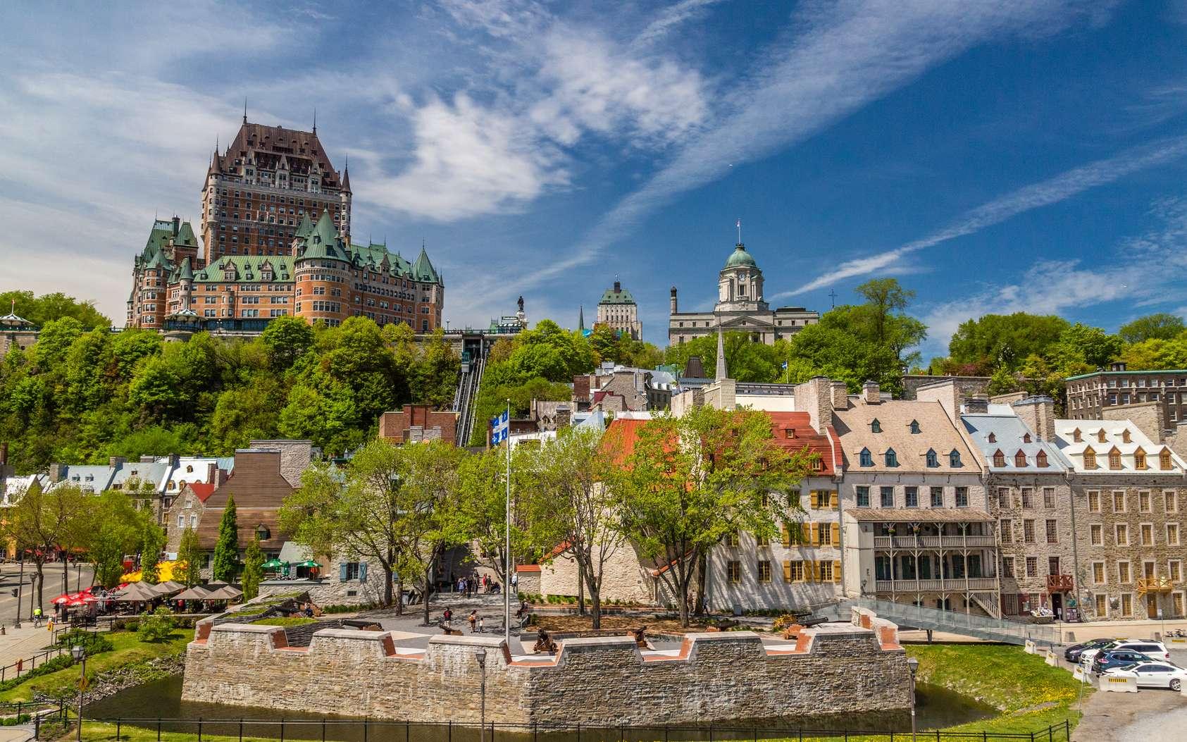 Le centre de Montréal, une des plus anciennes villes du Canada. © John Nicklin, fotolia