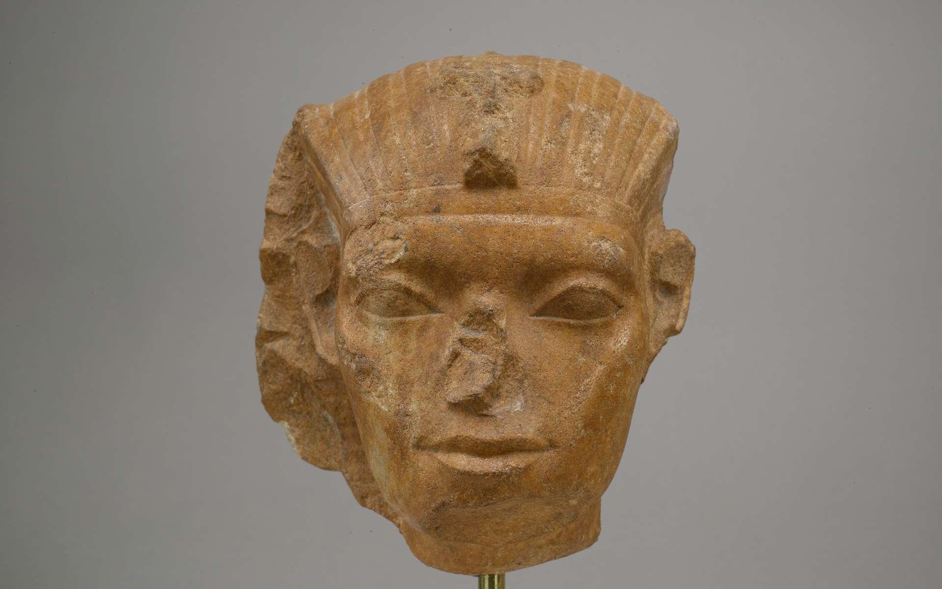 Les nez des rois et divinités égyptiennes ont été endommagés volontairement pour des raisons religieuses ou culturelles. © The Metropolitan Museum of Art