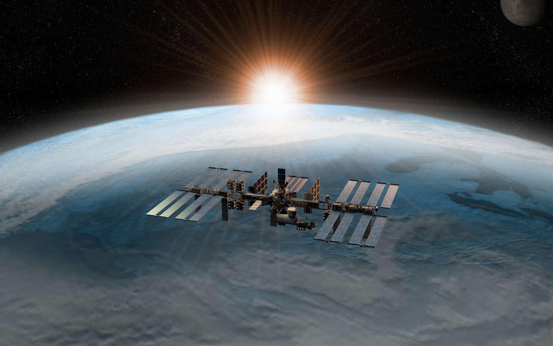 Dans l'espace, les astronautes vivent le confinement. Et aujourd'hui, pour nous aider à surmonter la crise du coronavirus, ils partagent leurs expériences avec nous. © Jose Luis Stephens, Adobe Stock