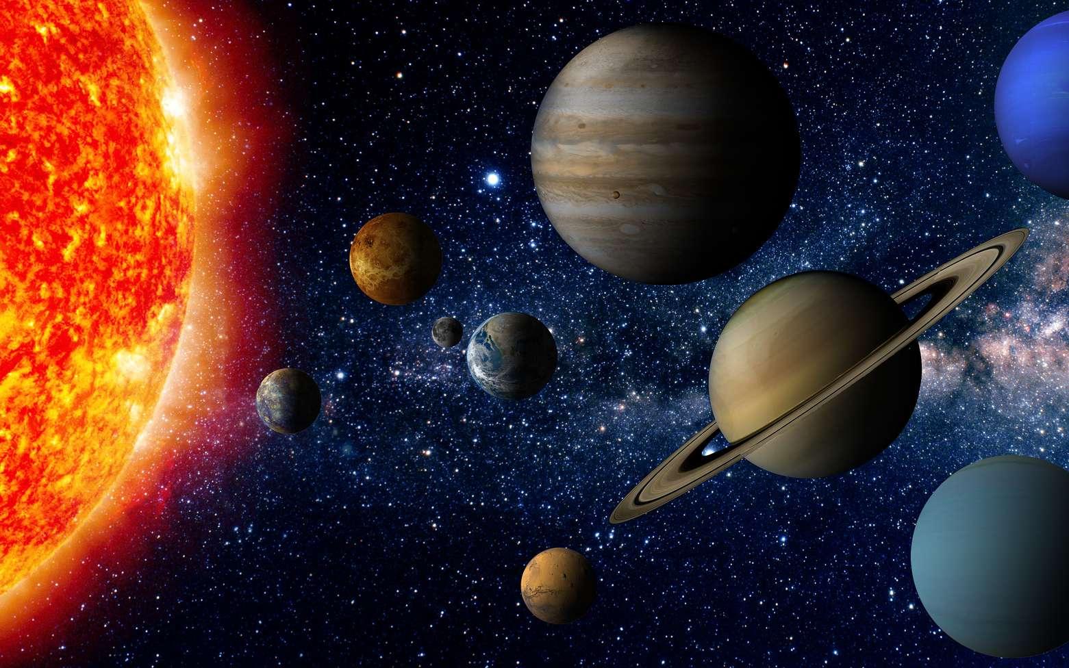 Jupiter est la plus grande planète du Système solaire ? © janez volmajer, Fotolia