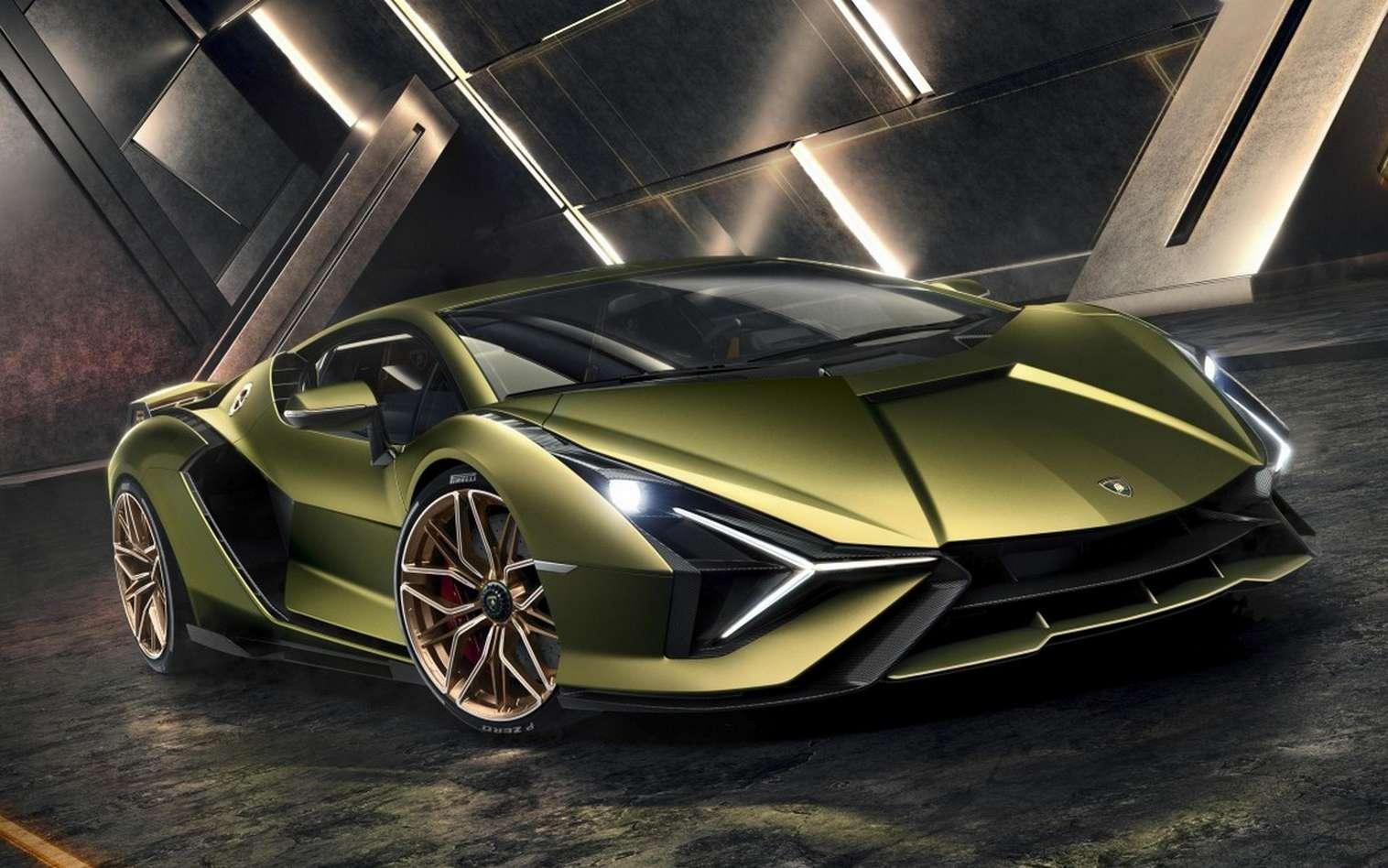 La Lamborghini Sián rend hommage à la mythique Countach. © Lamborghini