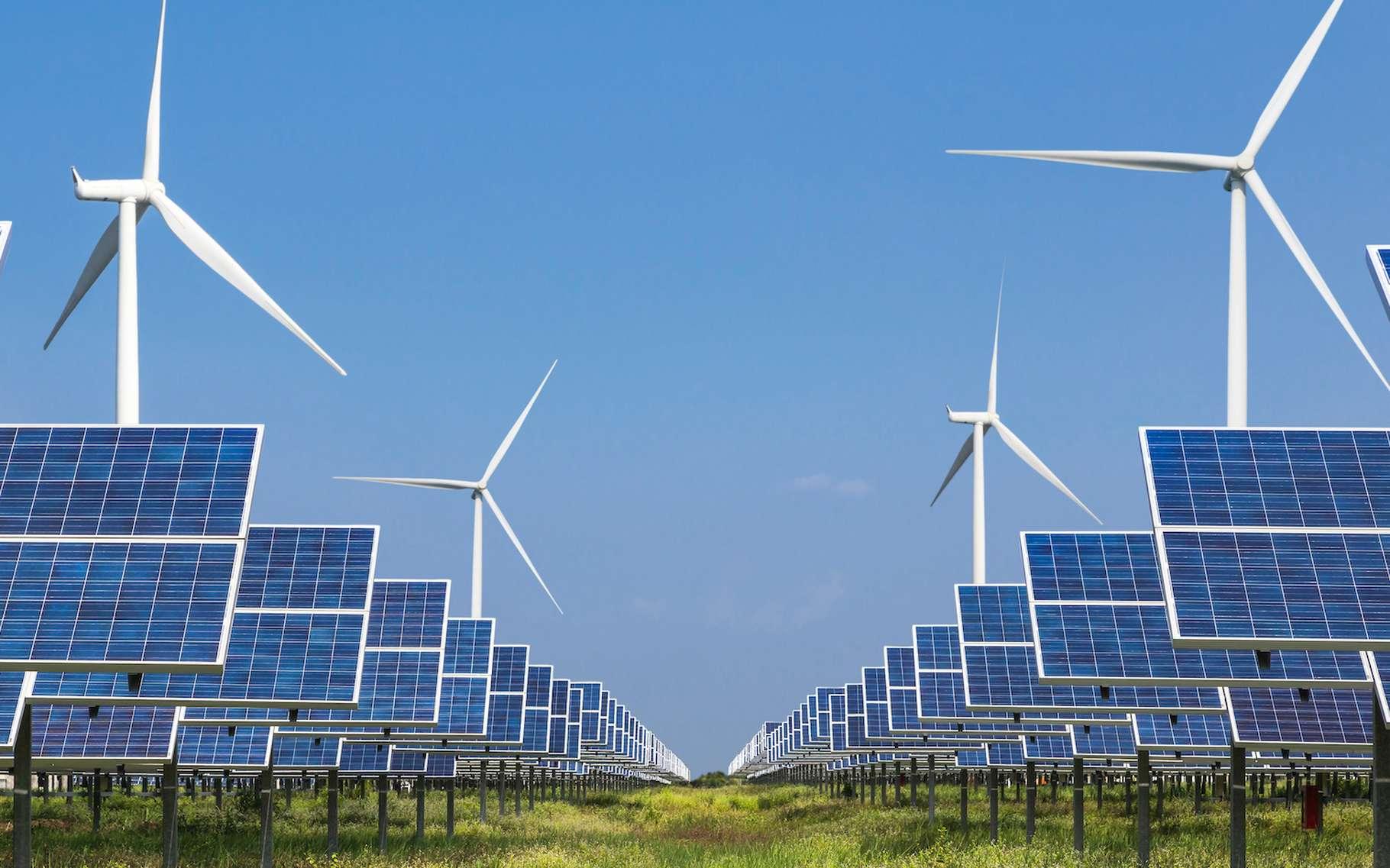 En 2019, c'est notamment le recours aux énergies renouvelables qui a permis de limiter les émissions de CO2 liées à la production d'énergie. © Soonthorn, Adobe Stock