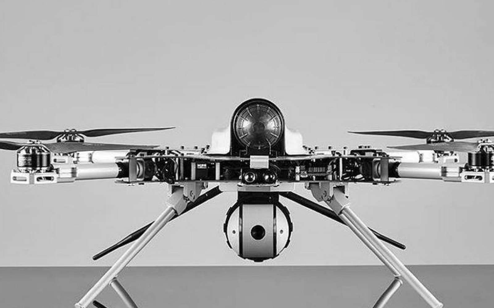 La perte de liaison a transformé l'aéronef en tueur autonome choisissant sa cible pour l'éliminer. © STM