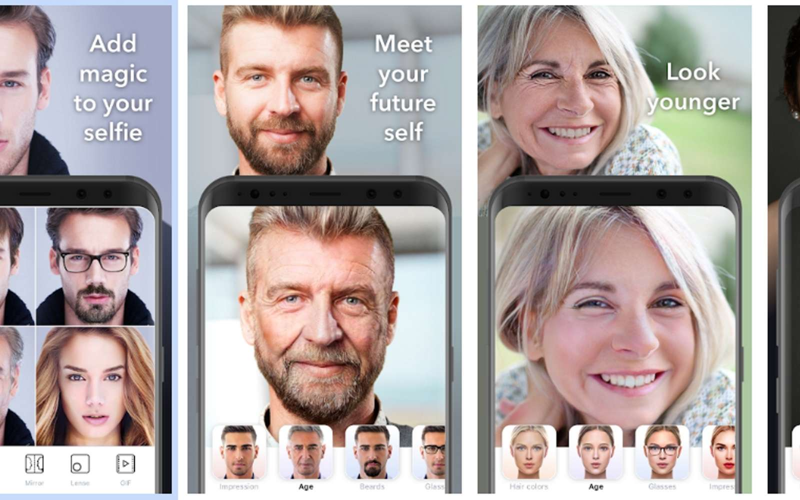 Virale, l'application FaceApp fait l'objet d'une polémique sur l'usage qui est fait des photos transmises aux serveurs de son éditeur. © FaceApp
