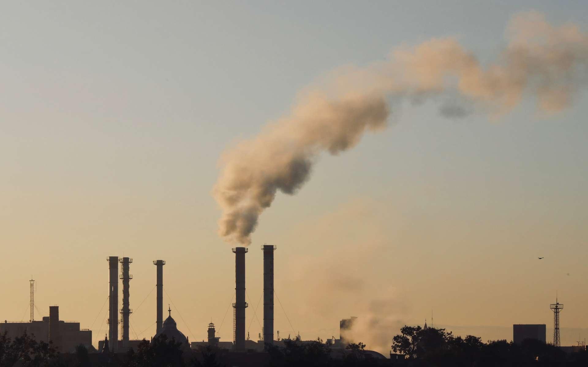 Les niveaux de dioxyde de carbone, de méthane et de protoxyde d'azote mesurés dans l'atmosphère n'ont jamais été aussi hauts qu'en 2018. © Cristi Goia, Unsplash