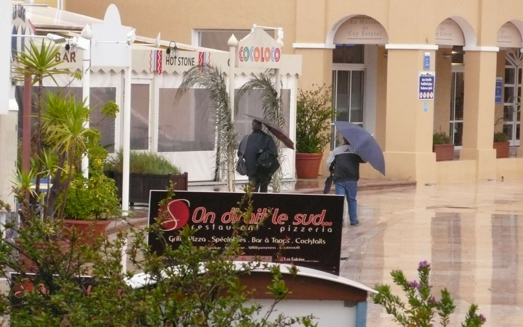 Dans le sud-est de la France, à l'automne, des précipitations intenses surviennent assez souvent et sont mises au crédit des « épisodes cévenols », un mécanisme bien connu. Mais d'autres phénomènes, plus locaux, interviennent aussi, comme le démontrent les résultats d'études récentes, menées grâce au programme Hymex. © Jean-Luc Goudet, Futura-Sciences