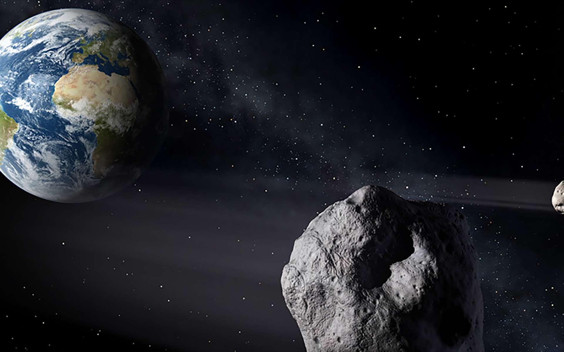 Mieux connaître les astéroïdes pour s'en protéger. © Nasa