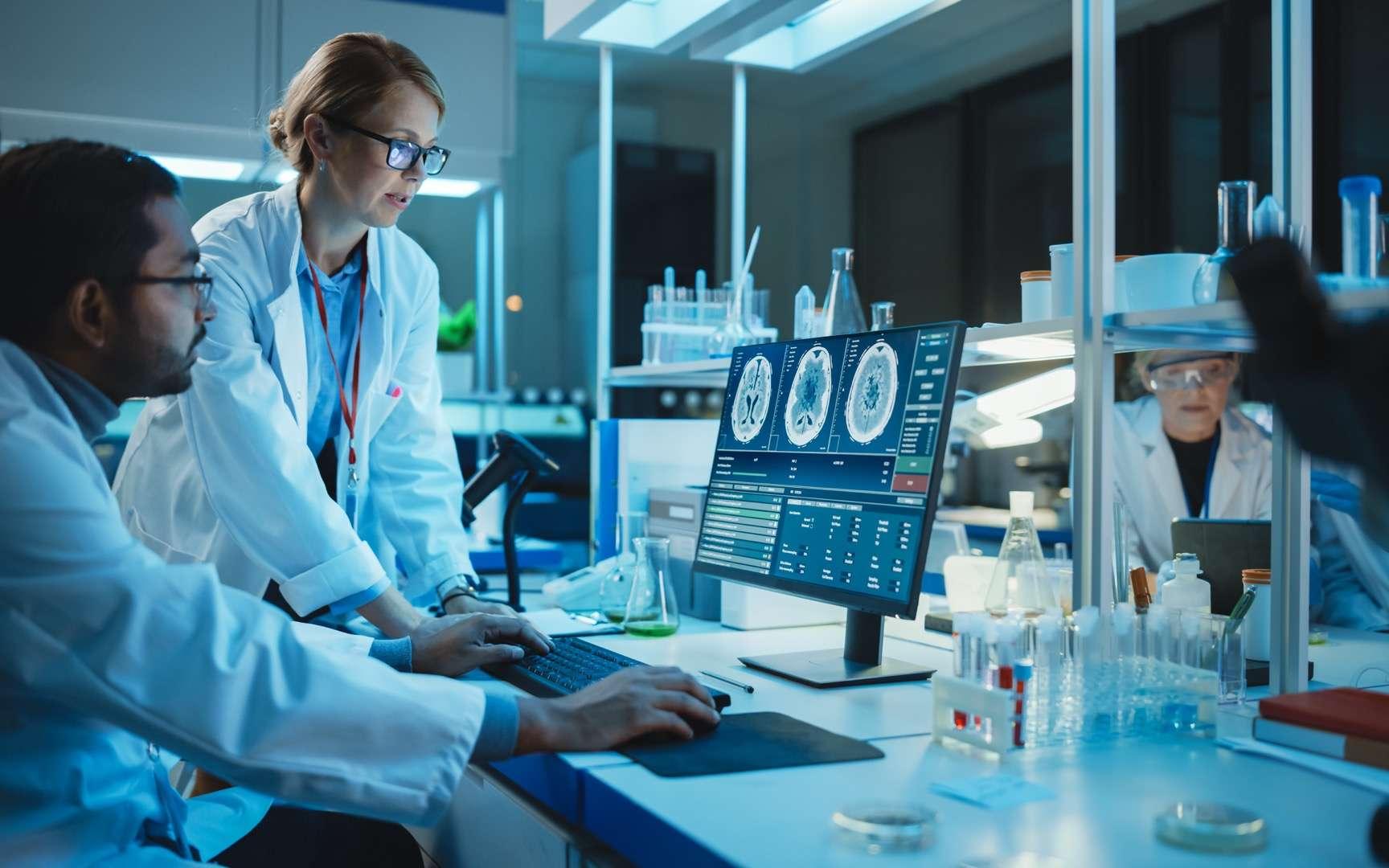 Les biotechnologies se retrouvent dans la santé, l'agriculture ou l'industrie. Selon le domaine, elles sont nommées biotechnologies vertes, rouges, blanches ou bleues.© Gorodenkoff, Adobe Stock