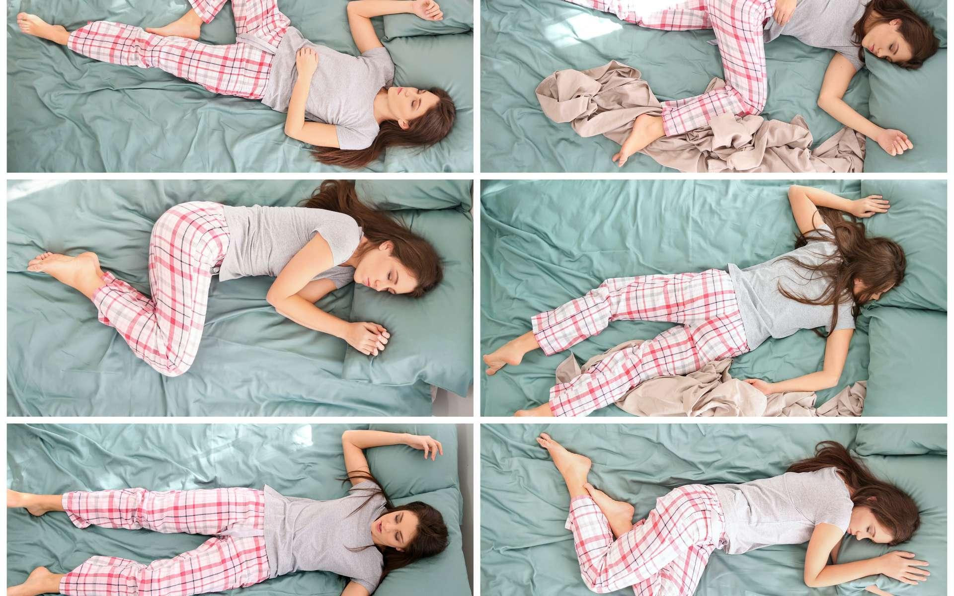 Une mauvaise position durant la nuit peut entraîner des tensions musculaires ou lombaires. © Pixel-Shot, Adobe Stock