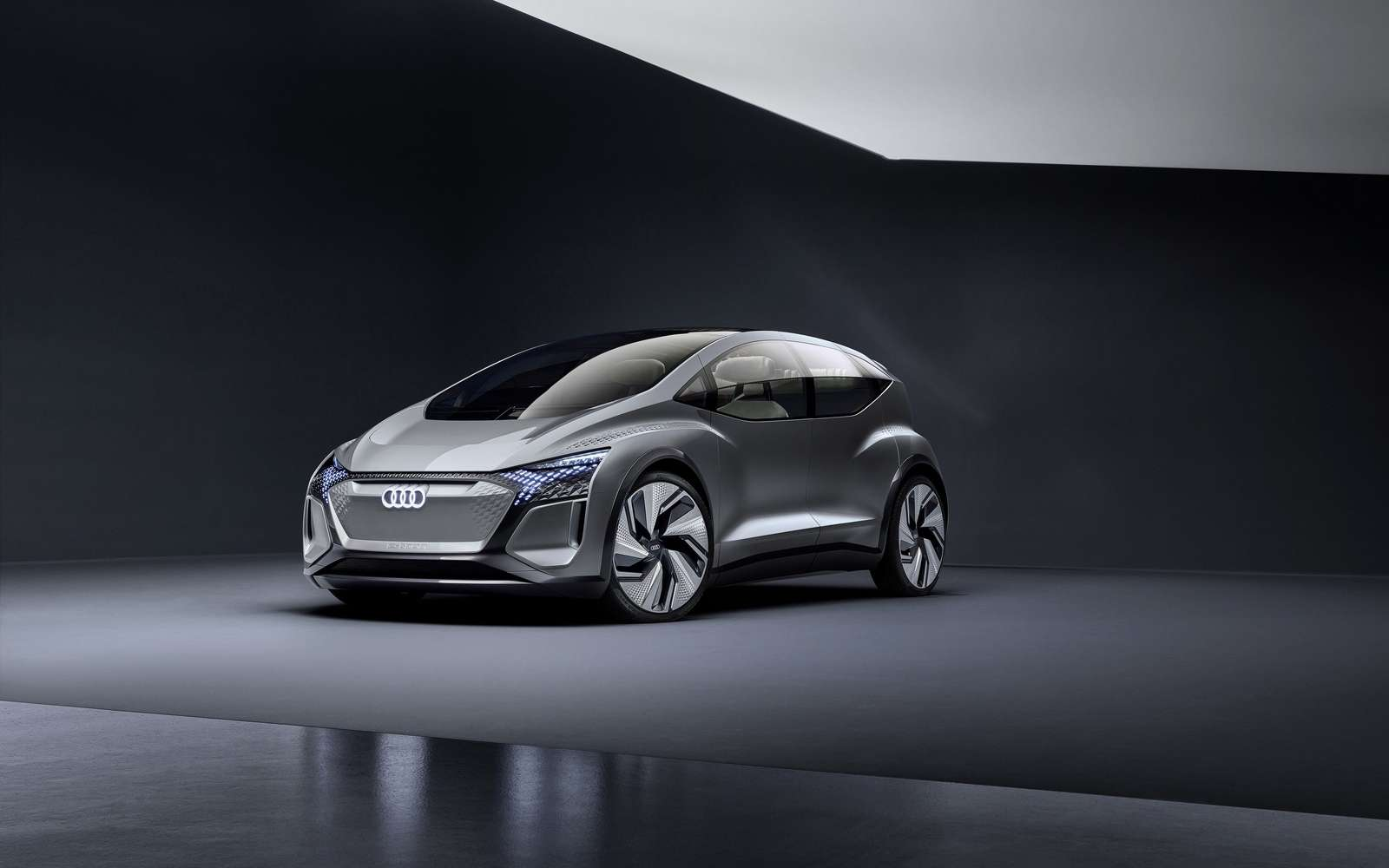L'Audi AI :ME est un concept de citadine à conduite autonome de niveau 4. © Audi AG