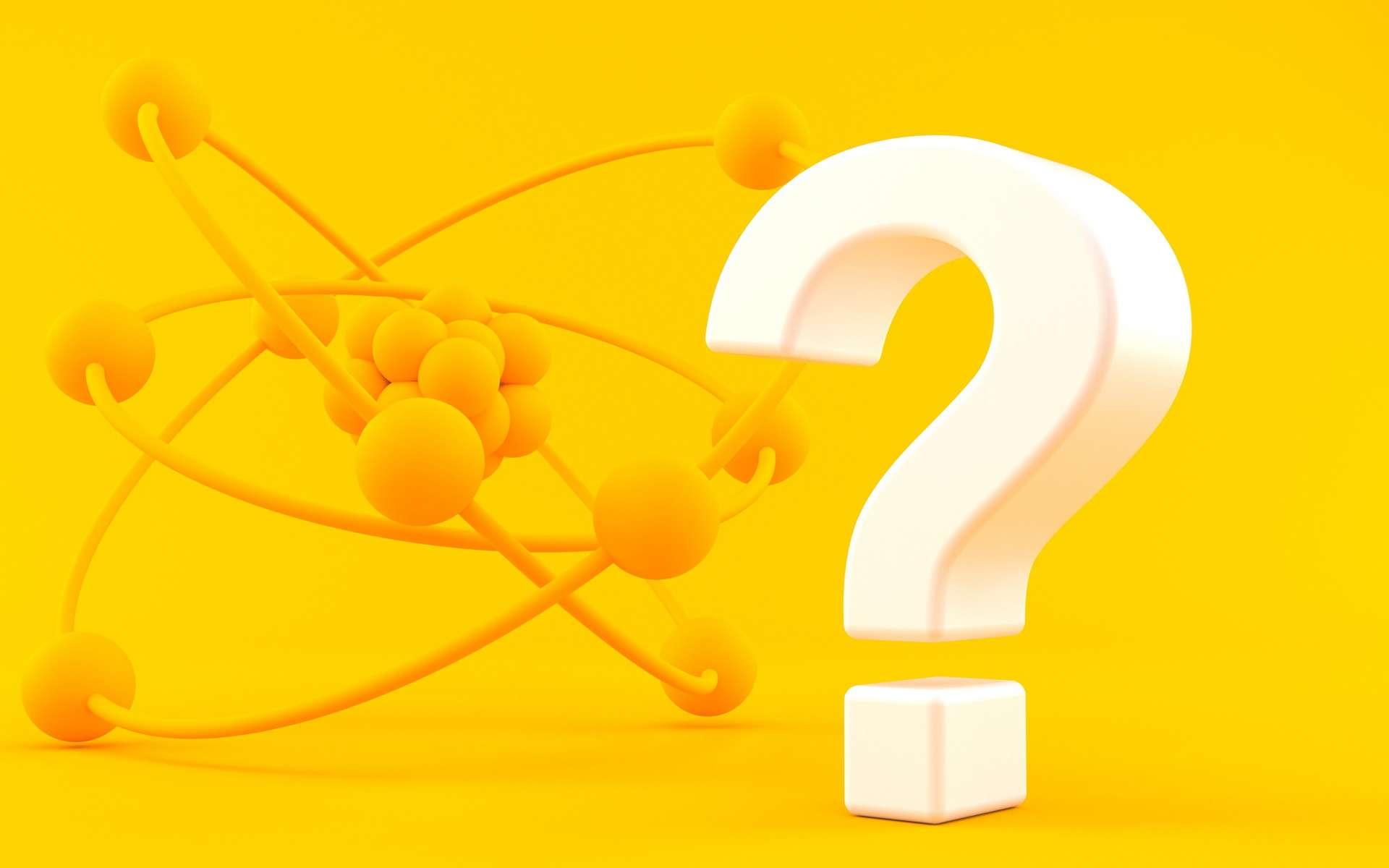 L'atome est constitué à 99,9 % de vide. © Talaj, Adobe Stock