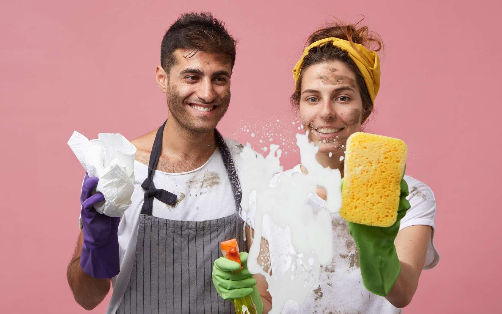 Le ménage est vraiment un sport, enfin si on y met du sien ! © Wayhome Studio, fotolia