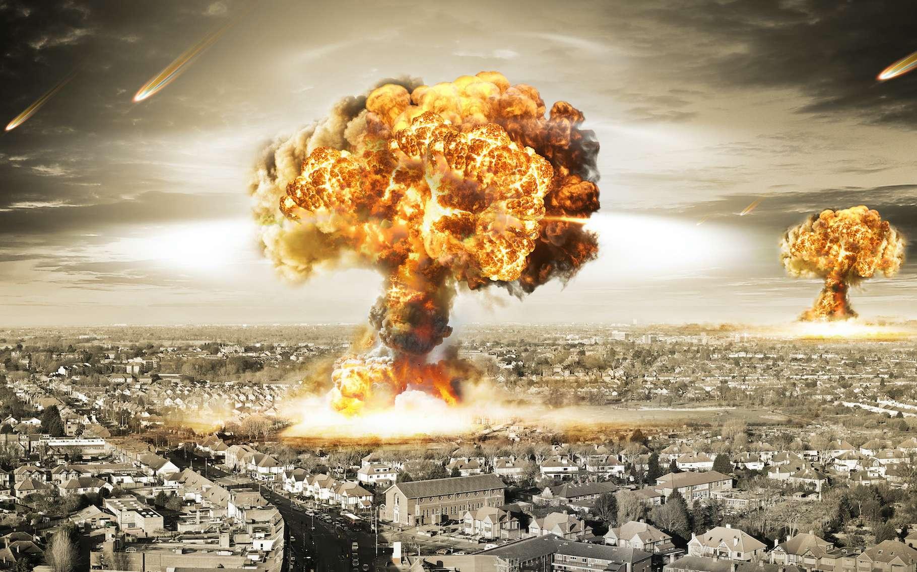 En cas de guerre nucléaire, six villes des États-Unis seraient des cibles privilégiées. © twindesigner, Adobe Stock