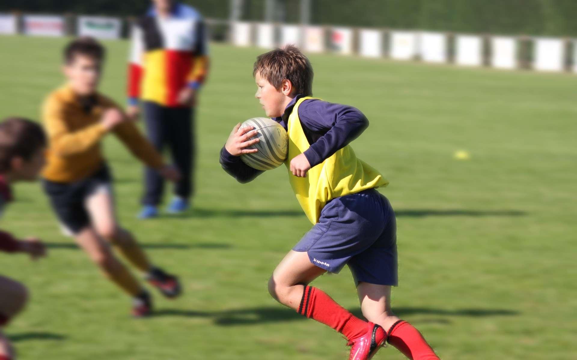 Un enfant asthmatique peut faire du sport. © emanelda, Fotolia.com