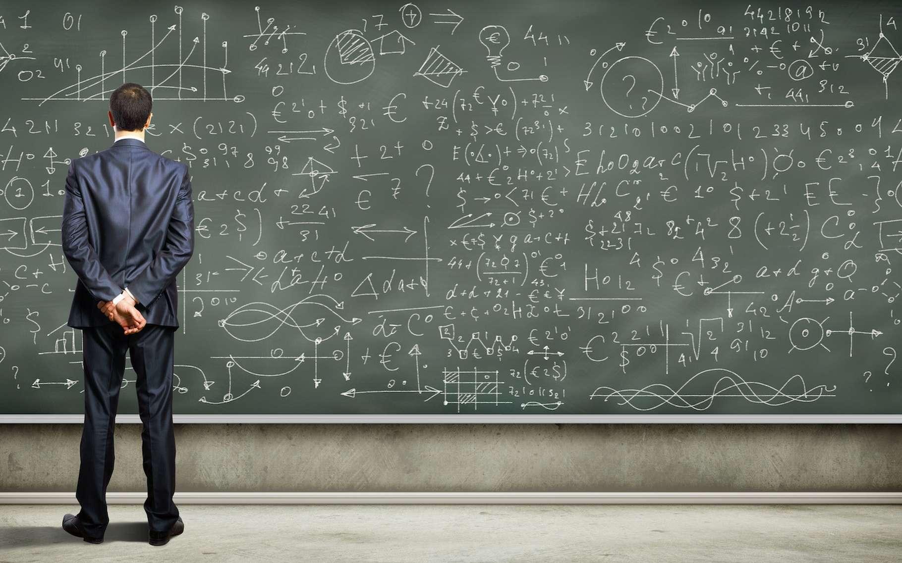 Les équations correspondent à des égalités soumises à conditions. © Sergey Nivens, Fotolia