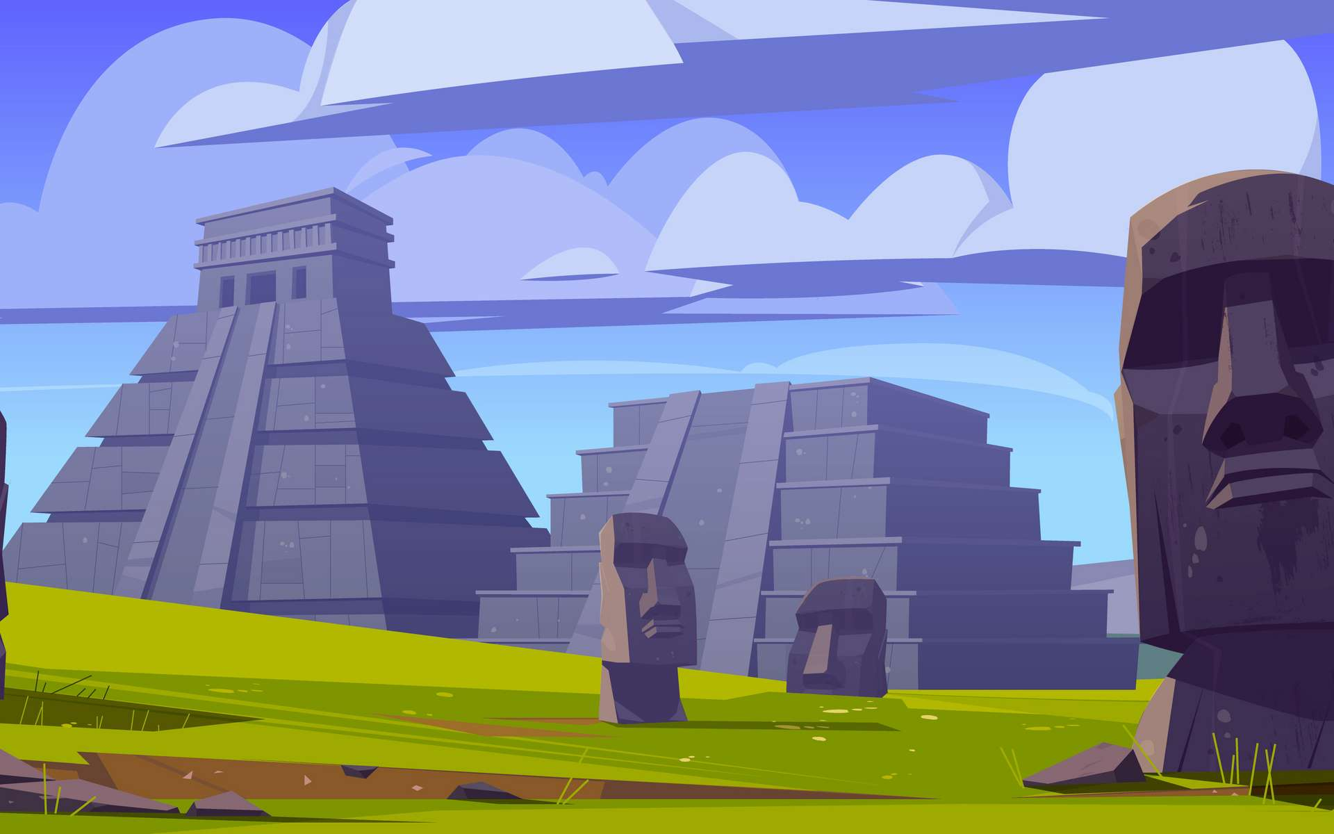 Les monuments érigés par les peuples d'Amérique latine sont encore aujourd'hui source de plusieurs mythes. © klyaksun, Adobe Stock