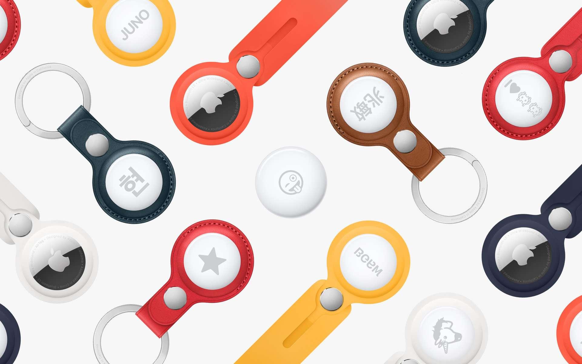 L'AirTag a des allures de porte-clés. © Apple